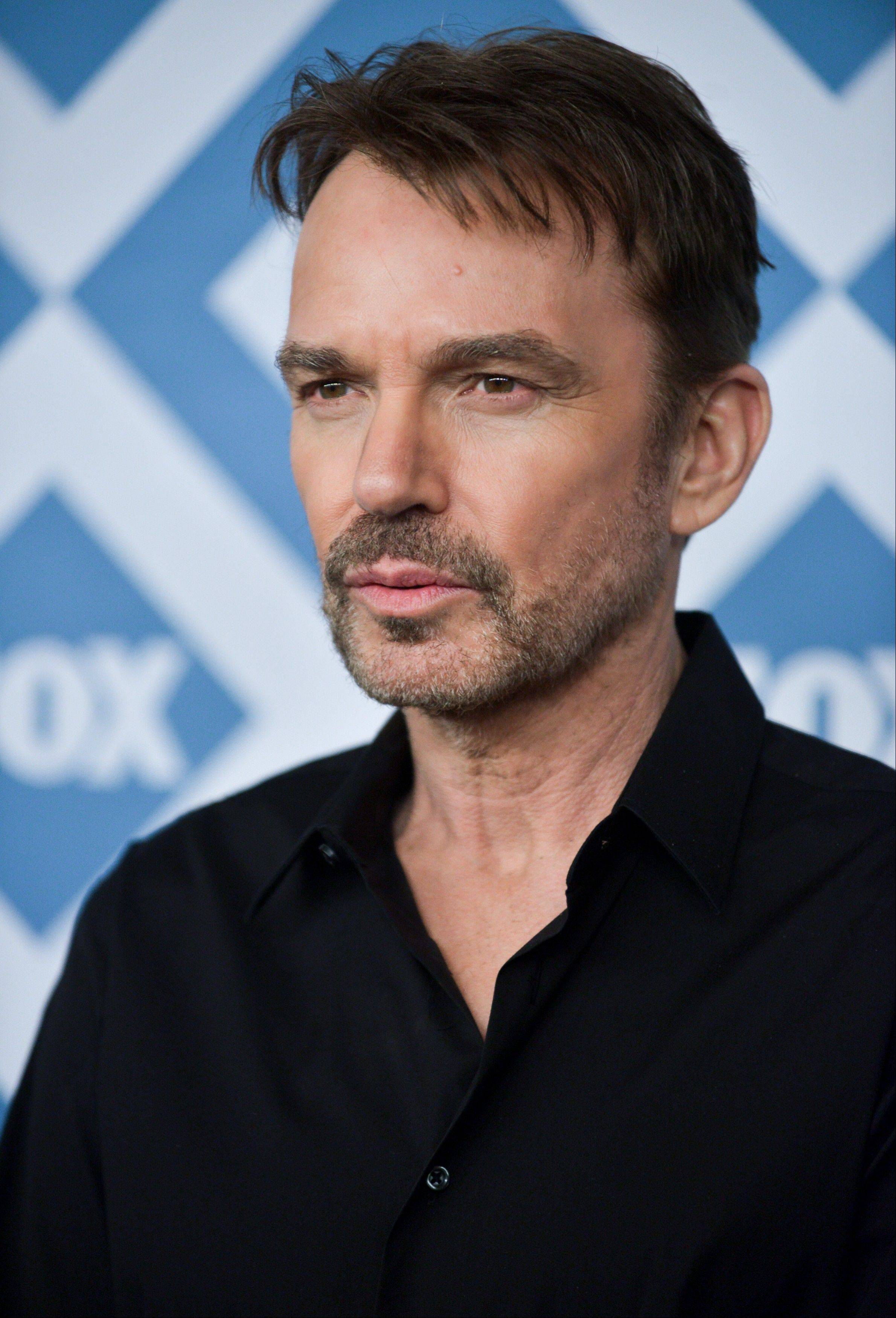Billy Bob Thornton arrives at the Fox All-Star Party on Monday at the Langham Hotel in Pasadena, Calif.