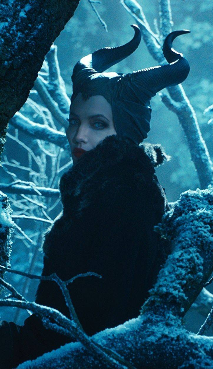 "Angelina Jolie returns to the silver screen in ""Maleficent."""