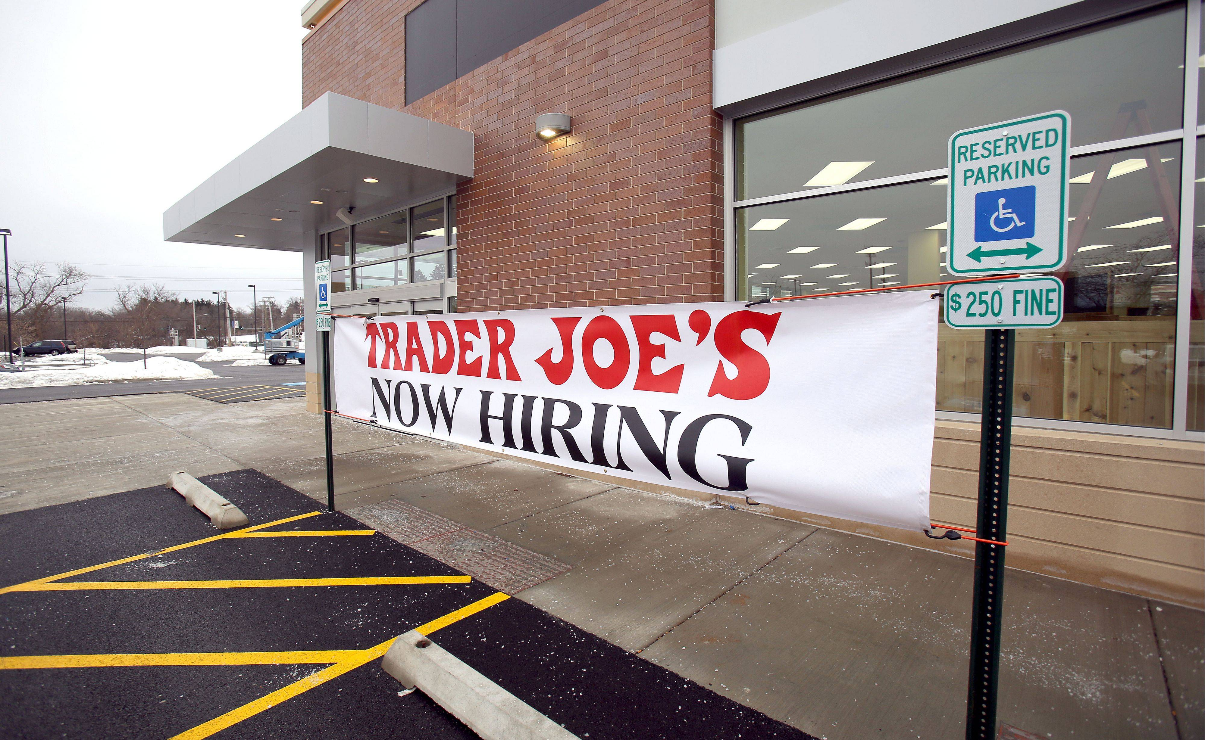 Announced nearly a year ago, Trader Joe�s in Libertyville will open at 8 a.m. Feb. 21.