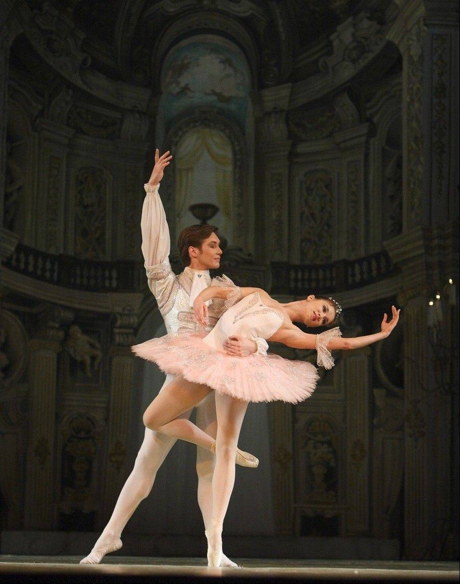"The Nureyev State Ballet Theatre from Russia performs ""The Sleeping Beauty"" at the Genesee Theatre in Waukegan on Sunday, Jan. 26."