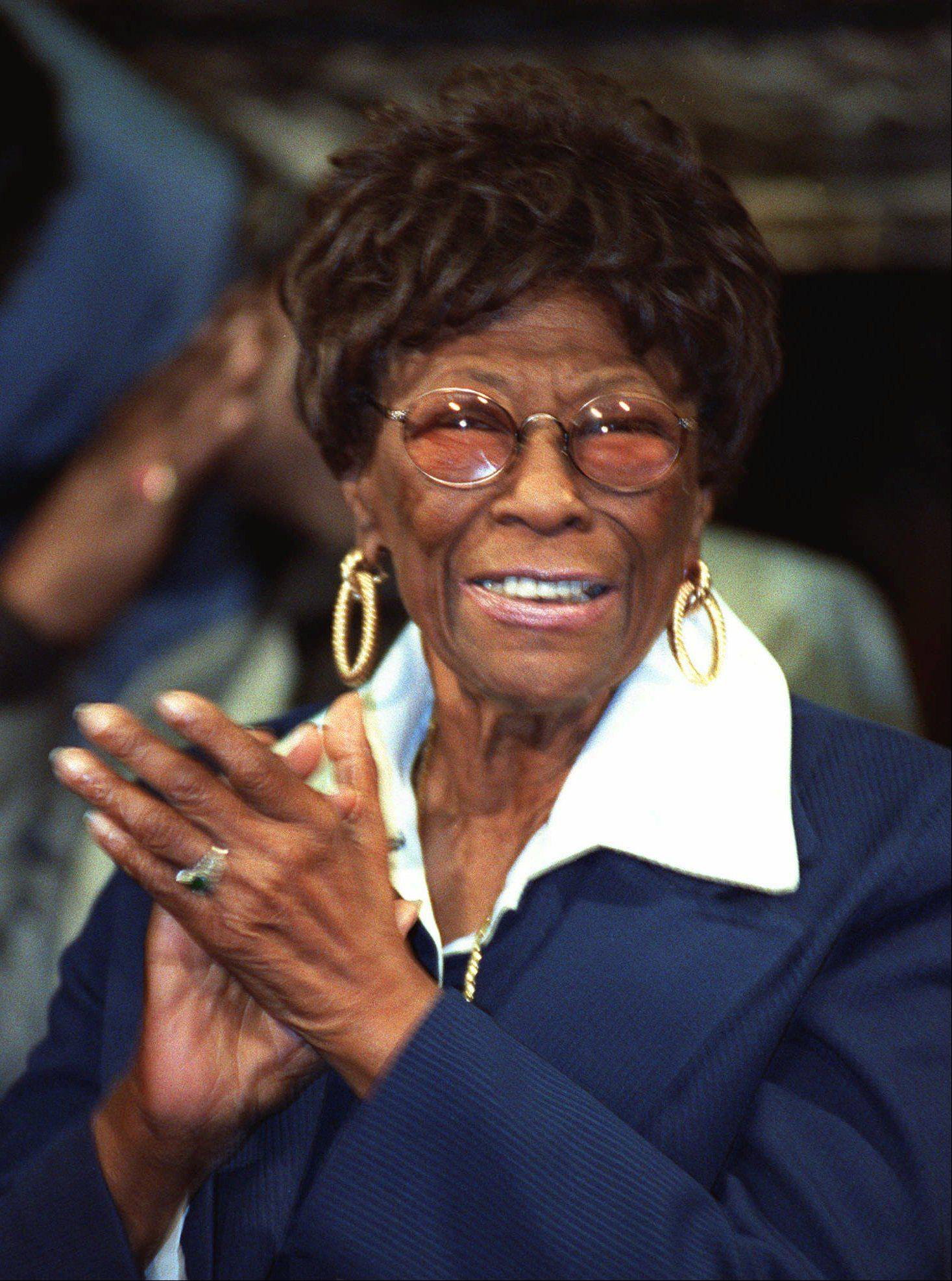 College of Lake County will host a tribute to Ella Fitzgerald at its flagship Grayslake campus at 8 p.m. Friday, Jan. 31. She is shown here in 1992.