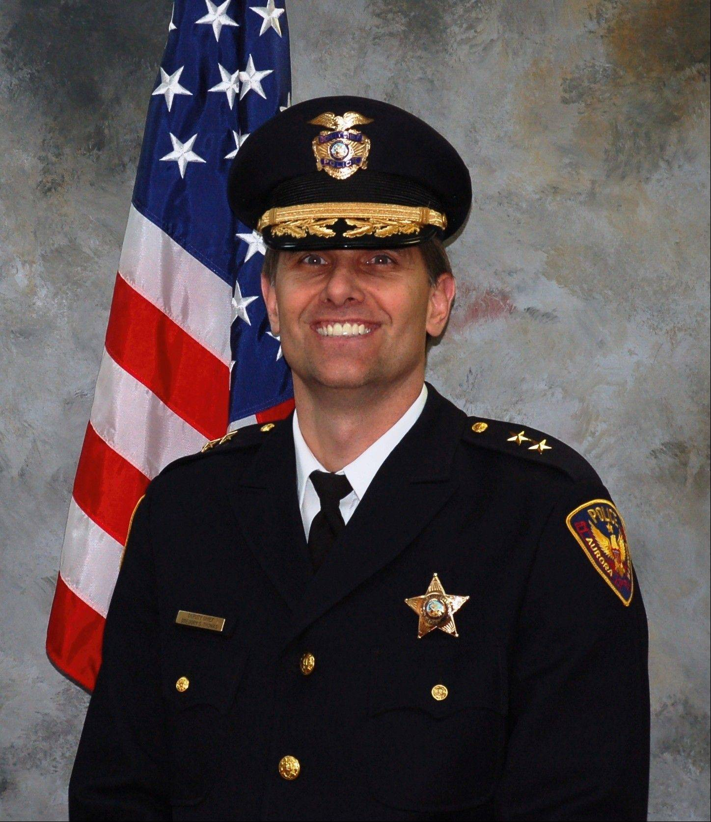Aurora police Chief Greg Thomas
