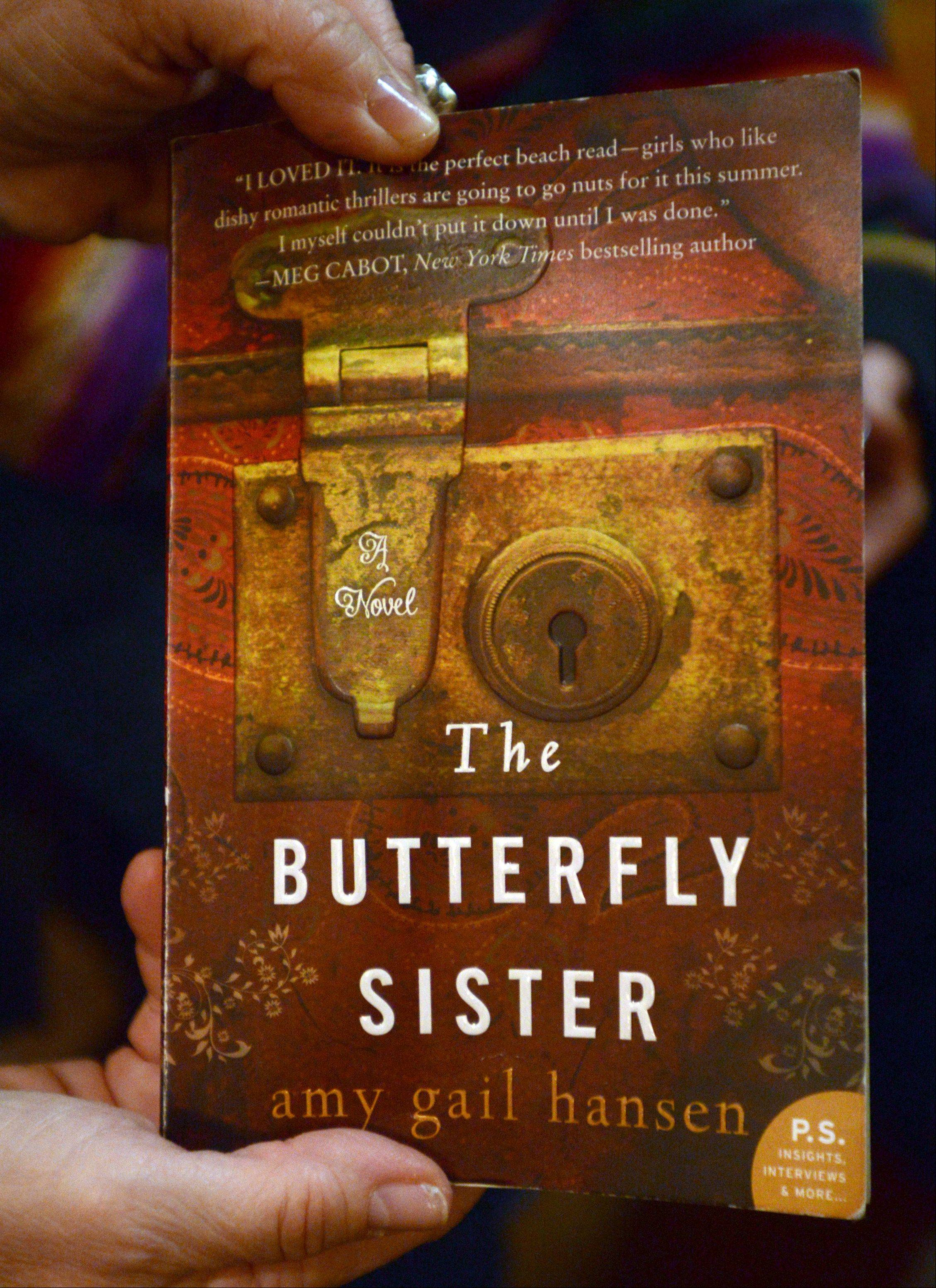 """The Butterfly Sister"" was published by HarperCollins."
