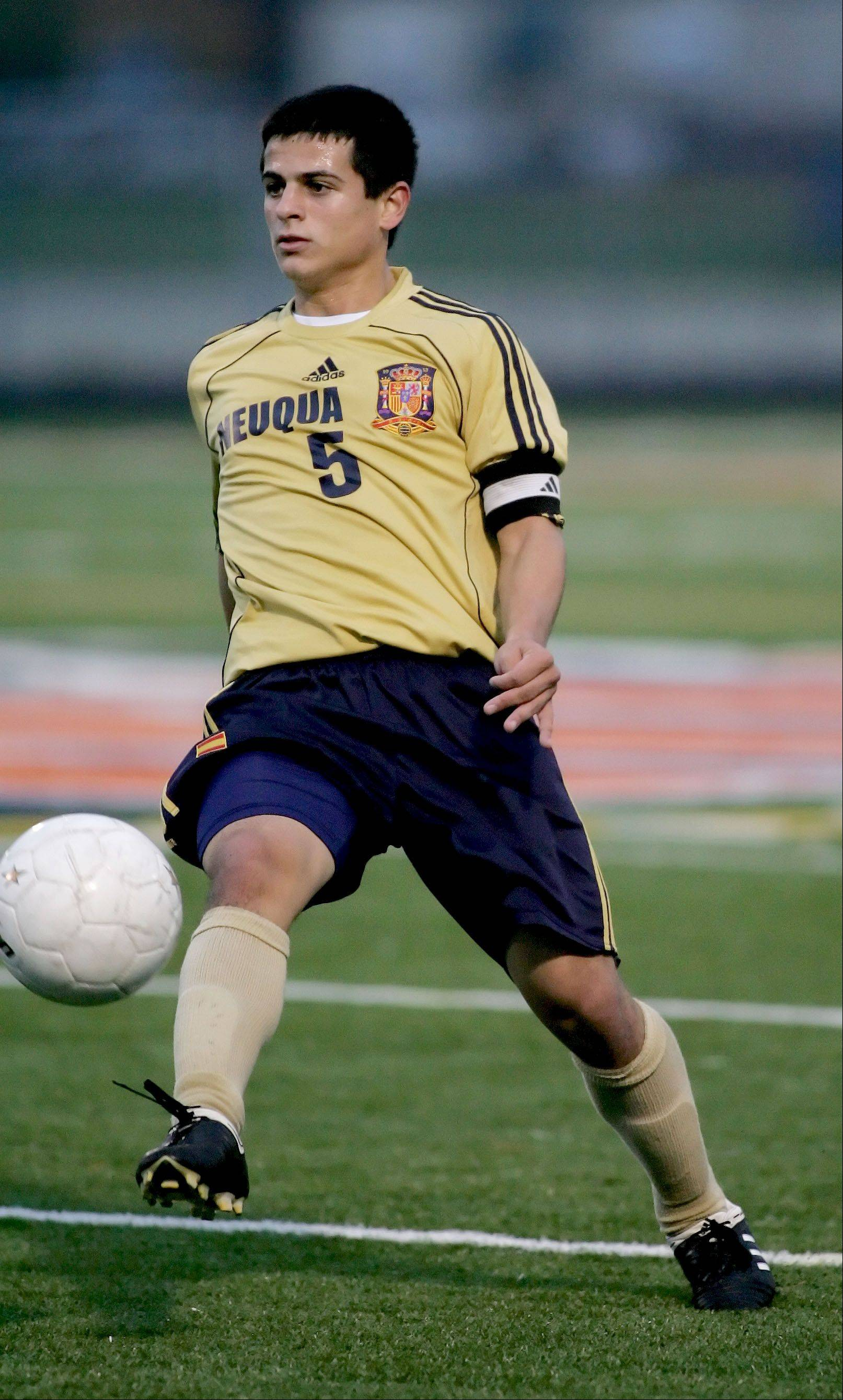 Bryan Ciesiulka played for Neuqua Valley in high school.