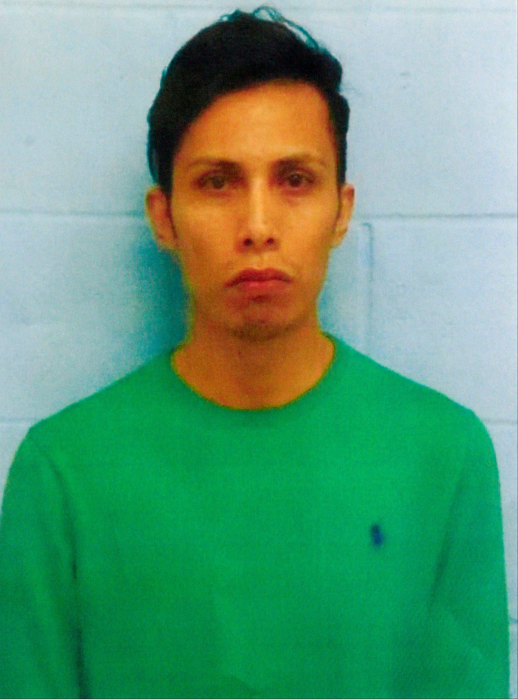 Daniel Guardiola Dominguez, 28, of Monterrey, Mexico, was arrested Sunday, Jan. 19, 2014, after arriving at the border with 96 fraudulent credit cards produced using data stolen during the Target security breach late last year.