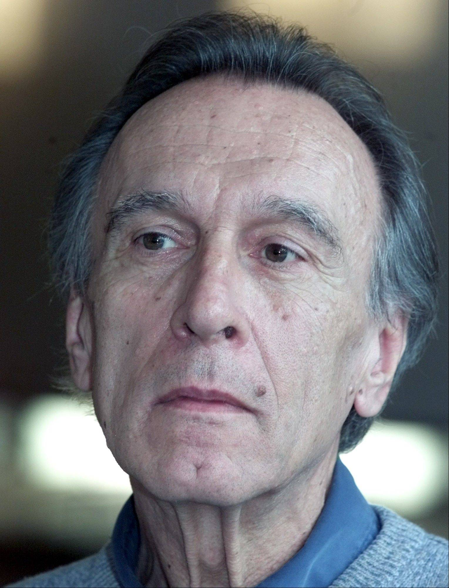 Senior conductor of the Berlin's philharmonic orchestra Claudio Abbado attends a press conference in Berlin. Claudio Abbado, a star in the great generation of Italian conductors who was revered by musicians in the world's leading orchestras, died Monday. He was 80.