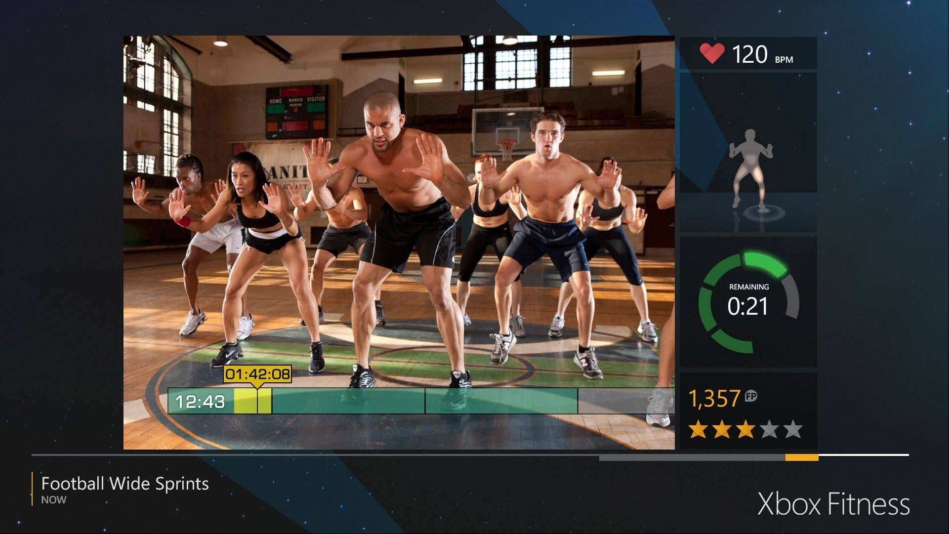 "Despite the advancements in motion tracking with the Xbox One's new Kinect sensor, ""Xbox Fitness"" -- more of an app than a game, really -- feels like a lunge backward from last year's ""Nike+ Kinect Training."""