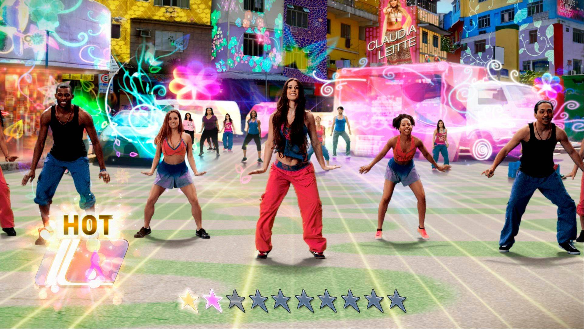 """Zumba Fitness: World Party,"" the latest entry in the hip-shaking empire's interactive catalog, goes global with a diverse lineup of Zumba routines led by real-world instructors in colorful renditions of such locales as Puerto Rico, Los Angeles, India and Hawaii."