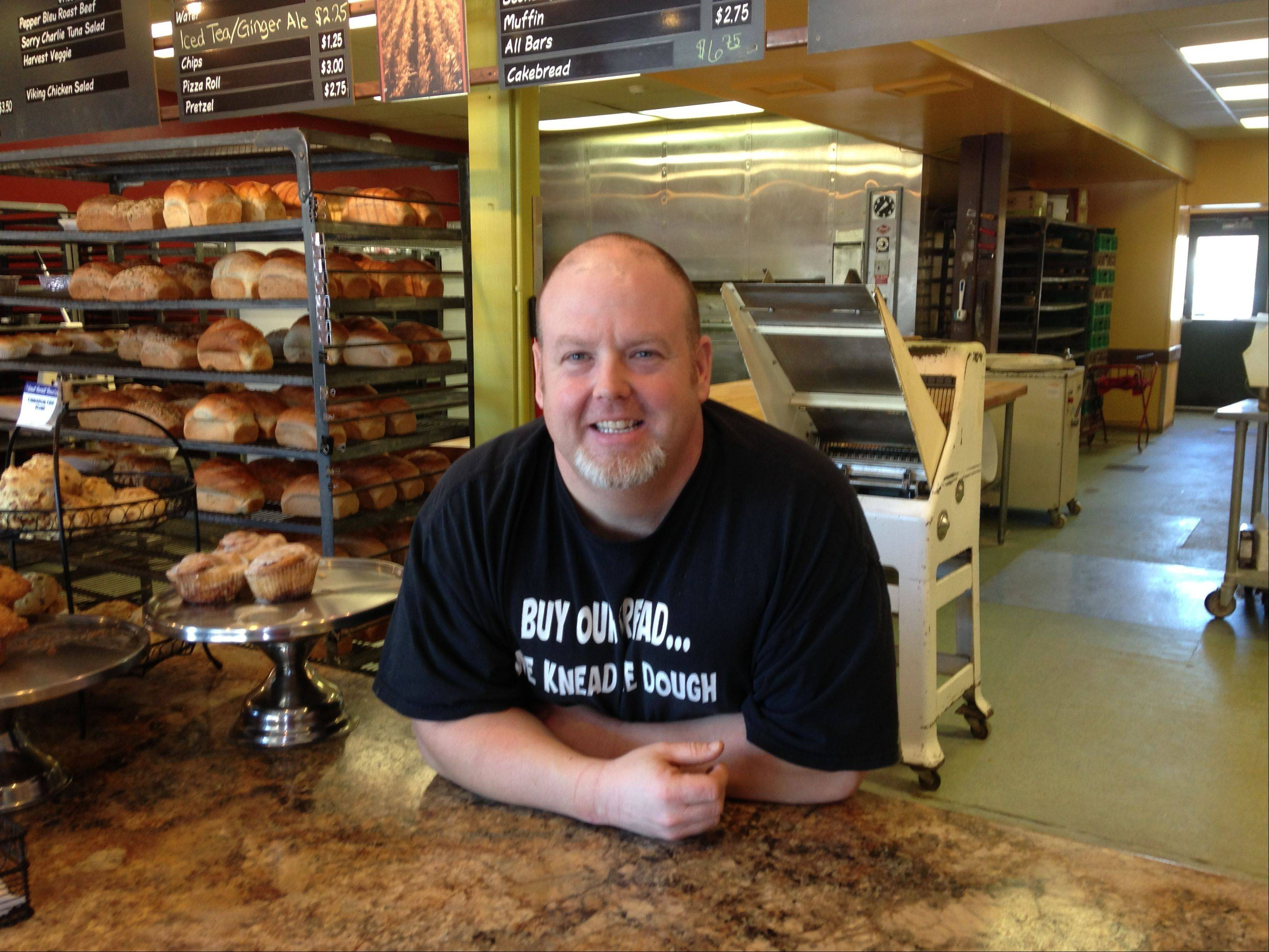 Marty Kane, owner of the Great Harvest Bread Co. store in downtown Geneva, said Tuesday he and his wife, Kim, will close the store Feb. 1. Sales have declined and costs have gone up. The store opened in 1994.