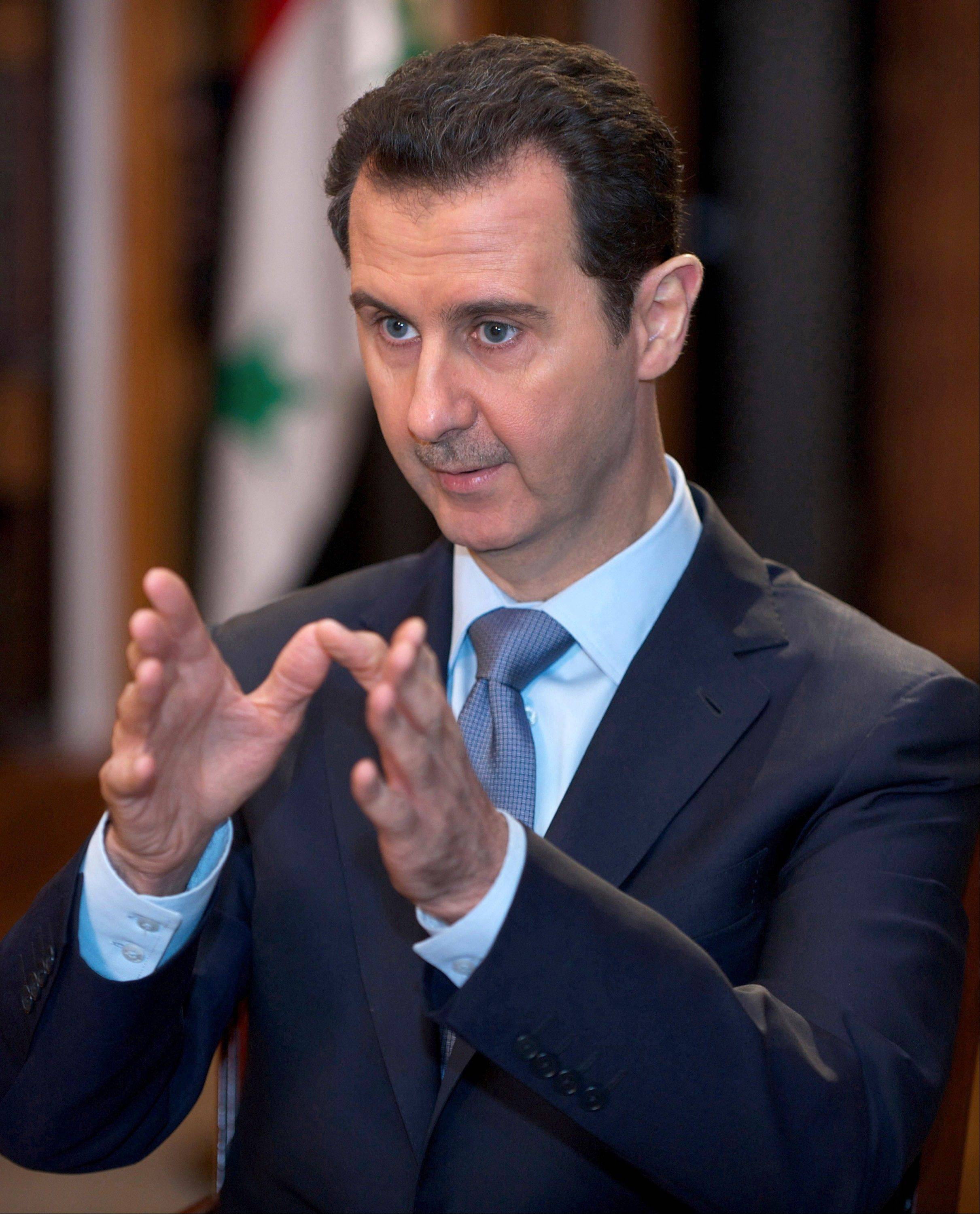 Syria has been ruled by President Bashar Assad's family since 1970, and Iran is Assad's strongest regional ally, supplying his government with advisers, money and materiel since the uprising began in 2011.
