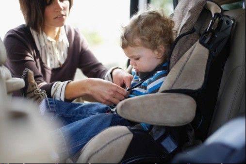 Child car seats would for the first time have to protect children from death and injury in side-impact crashes under regulations the government is proposing, The Associated Press has learned.