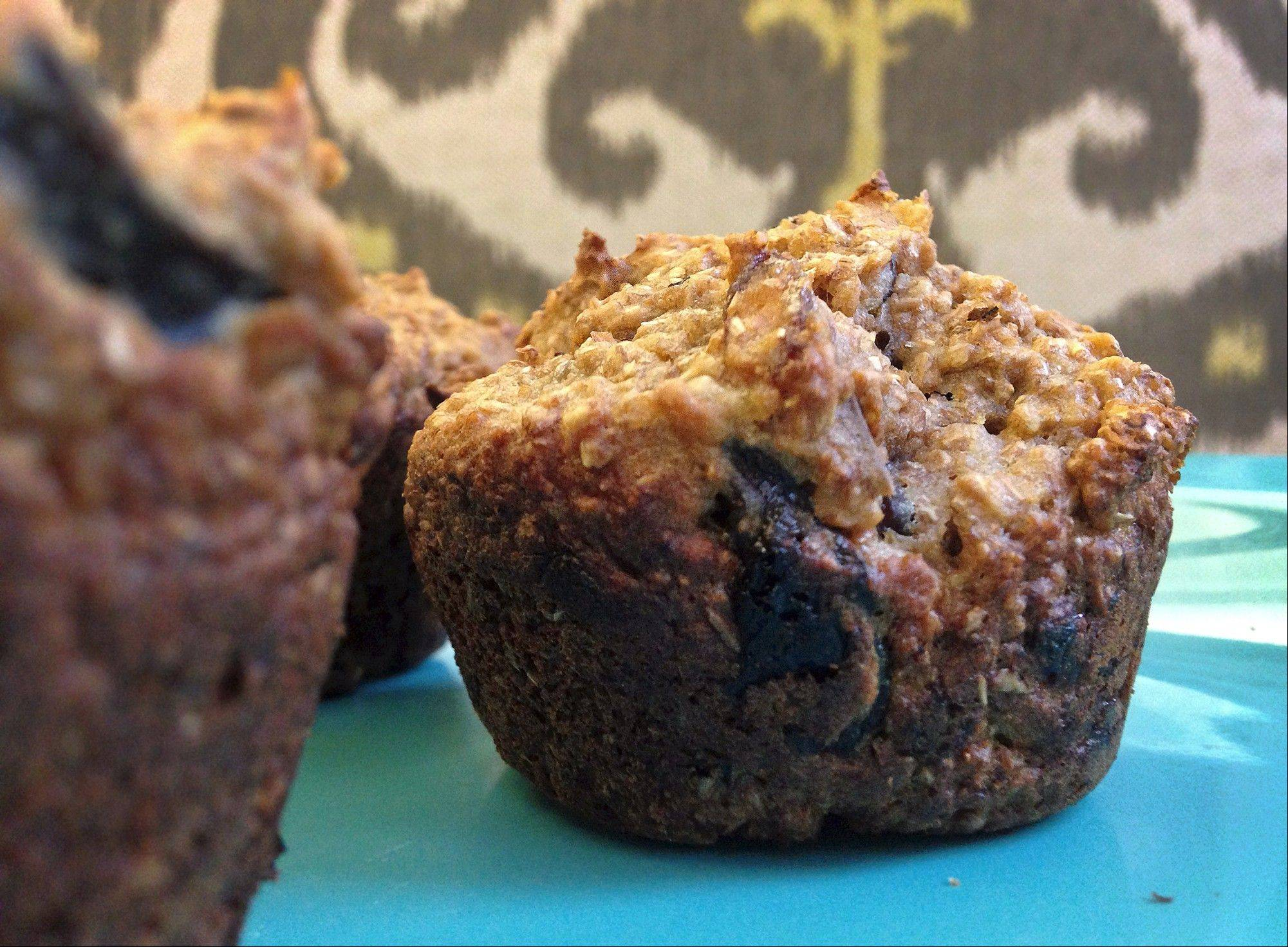 Start your morning on a healthy note with maple bran muffins.