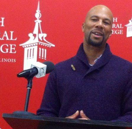 "Grammy Award-winning artist Common delivered the keynote address titled ""Greatness"" on Tuesday night as part of North Central College's Martin Luther King Jr. Week."
