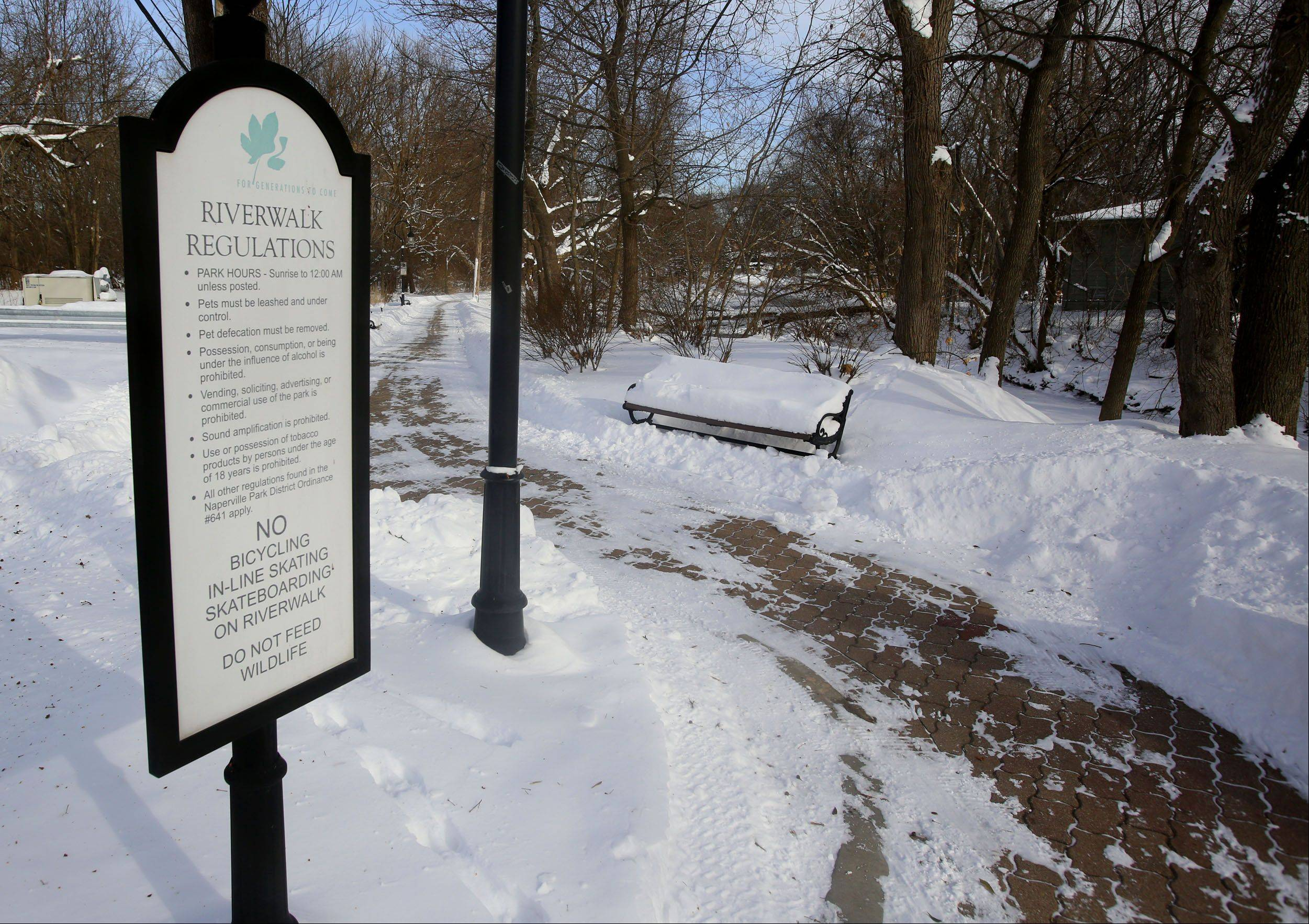 The Naperville City Council approved a change to Riverwalk planning documents that extends the boundary of the popular path another 1,300 feet south to Martin Avenue from its current end at Hillside Road. The extension is not planned to be built in the near future as city council members want to delay it to avoid borrowing funds for the project.