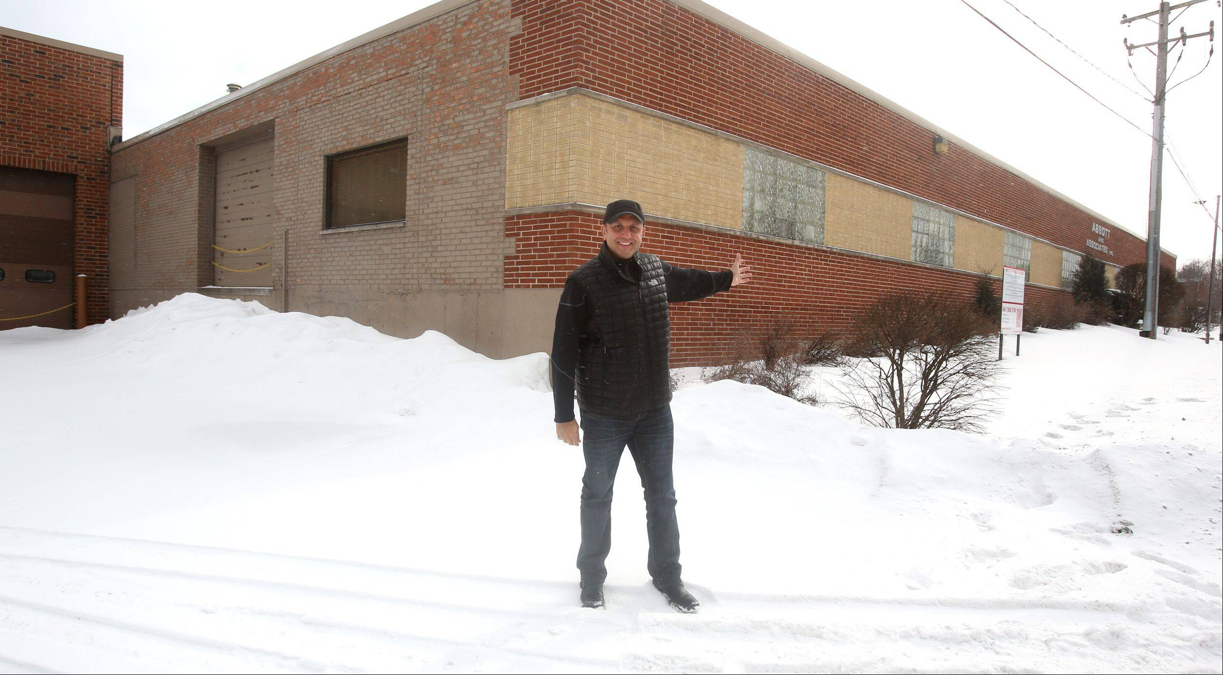 Julian Perez of Roselle is seeking permission from Bloomingdale to open a shooting sports facility along Circle Avenue, just north of Lake Street. The site is the empty building that was last used as a sheet metal fabricating business.