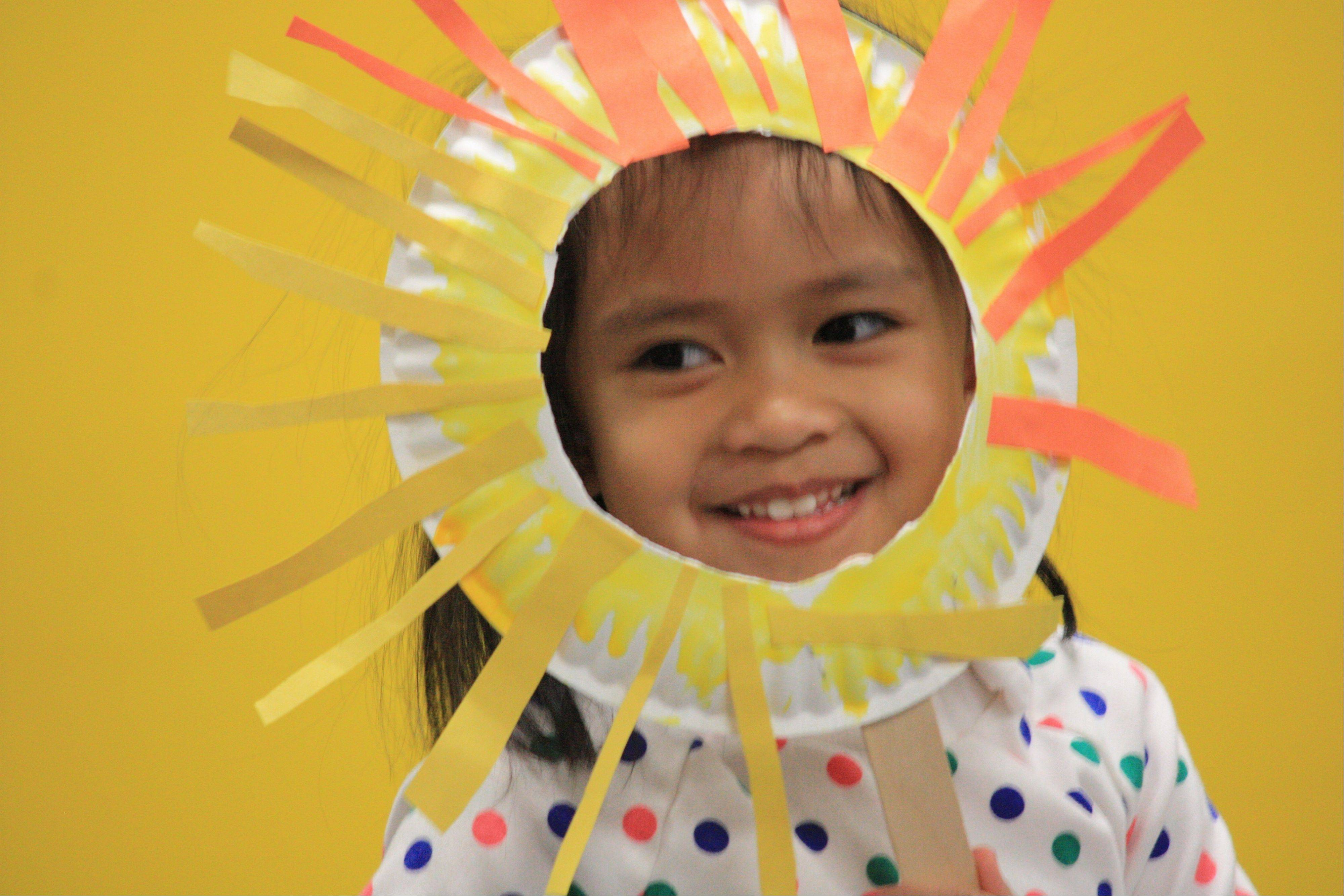 A student at Parkside Preschool participates in the Parkside Circus. The Palatine Park District will hold a Preschool Preview Night Thursday, Jan. 30. Come find out what preschool is all about.