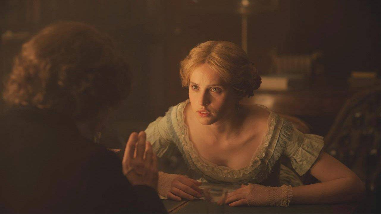 "Felicity Jones' nuanced performance practically steals the period drama ""The Invisible Woman,"" the story of Charles Dickens' secret love life."