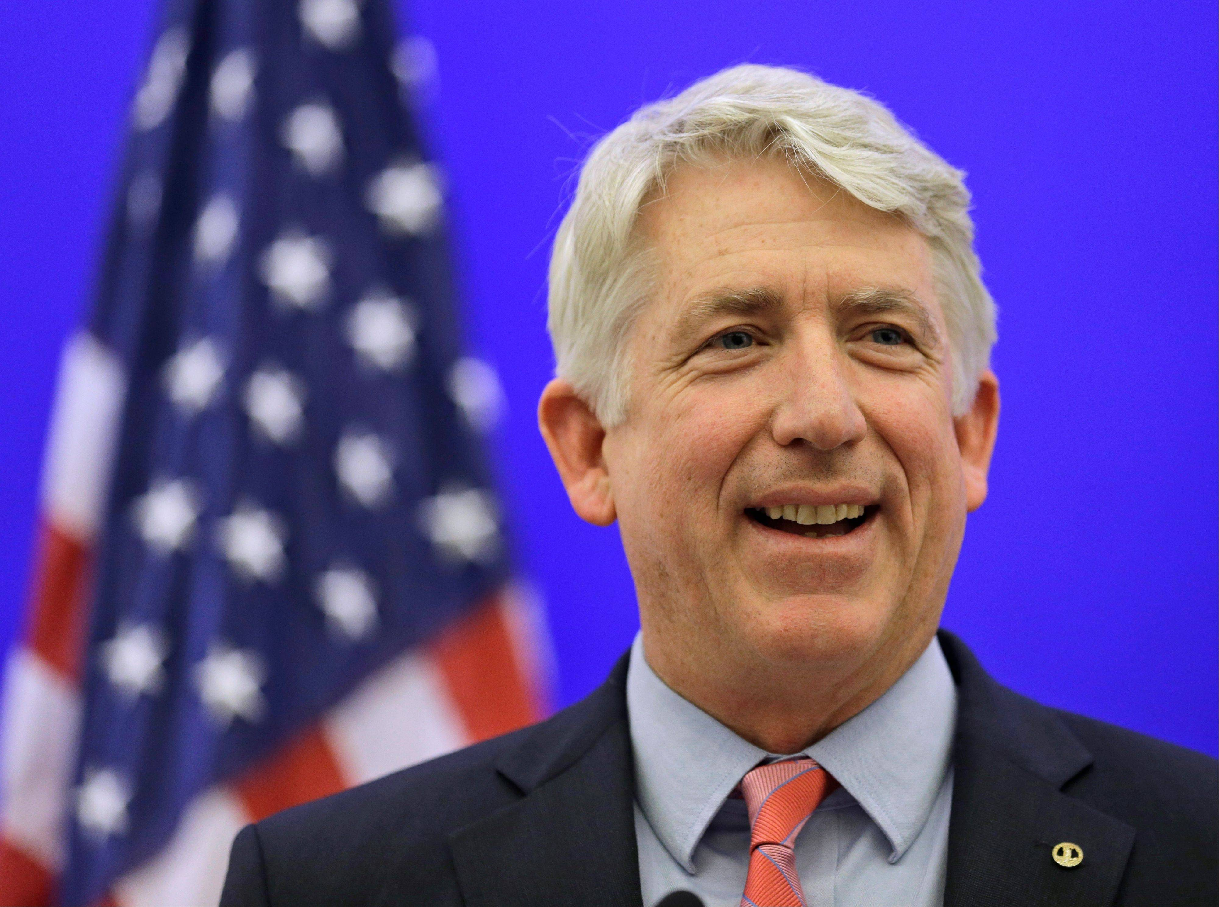 Associated Press File Photo Virginia Attorney General-elect Mark Herring has concluded that the state�s ban on gay marriage is unconstitutional and he will no longer defend it in federal lawsuits challenging it, his office said Thursday Jan. 23, 2014.