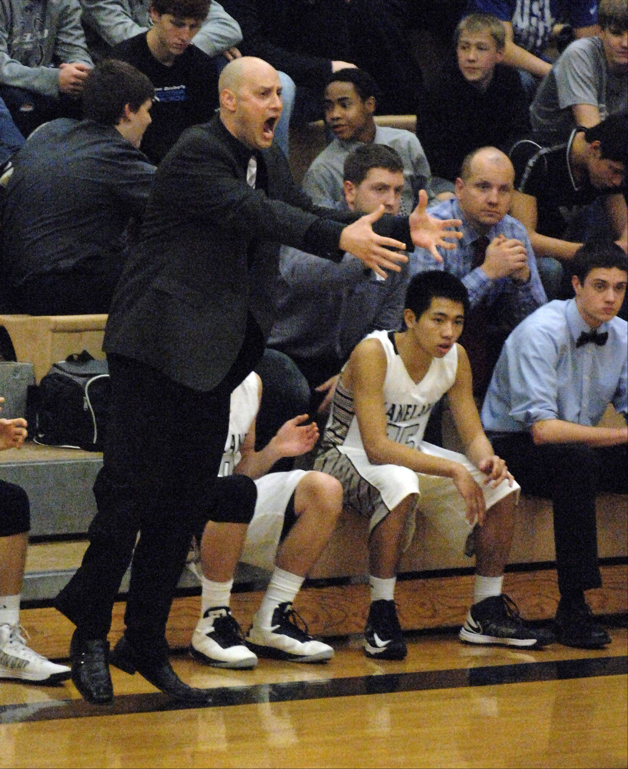 Brian Johnson, a 1997 St. Edward graduate and now the head coach at Kaneland, will bring the Knights to his alma mater to battle the Green Wave on Tuesday.