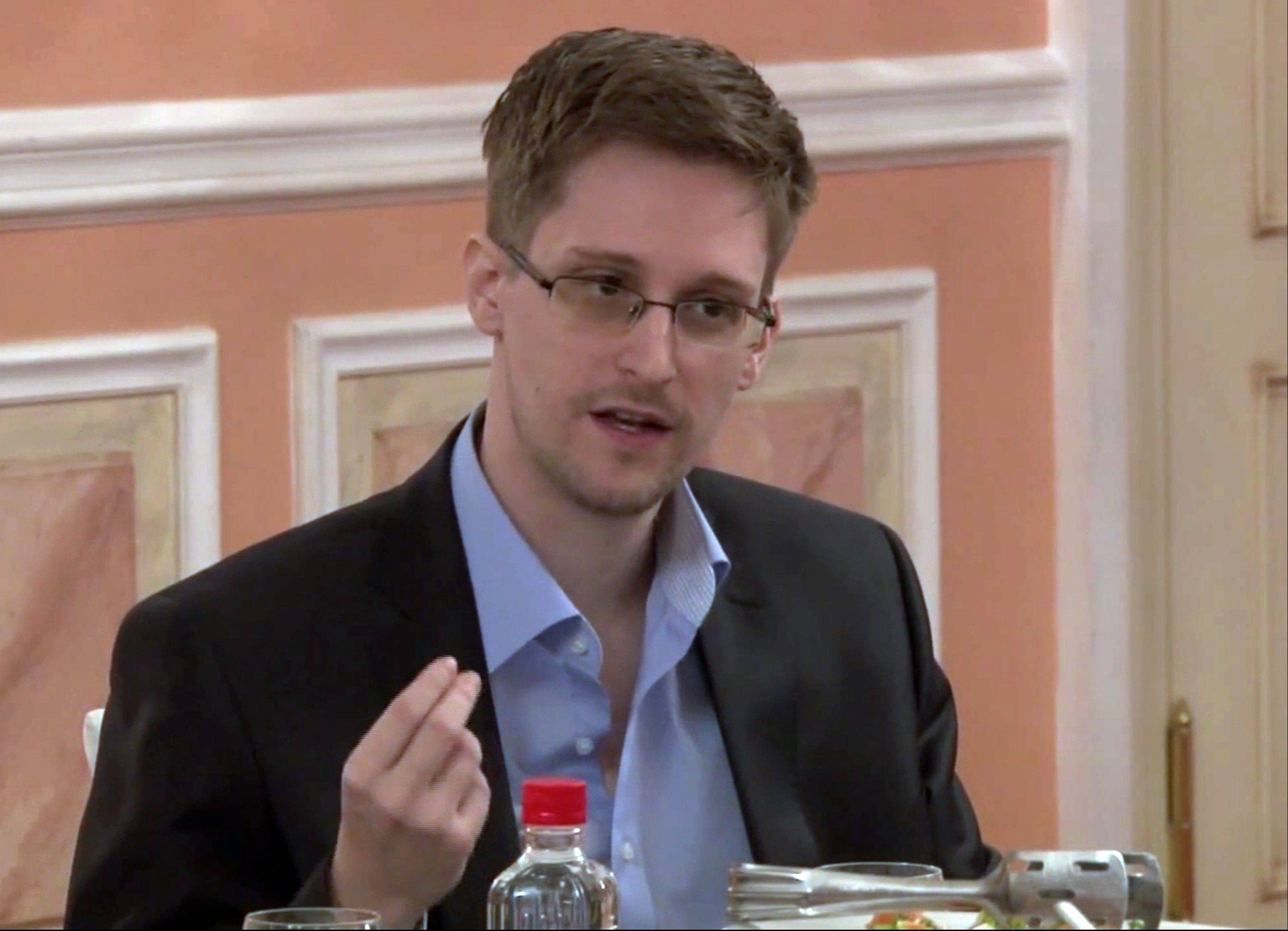 Former National Security Agency systems analyst Edward Snowden said via e-mail on Thursday that whistler-blower laws in the U.S. cannot preclude the possibility of him going to prison.