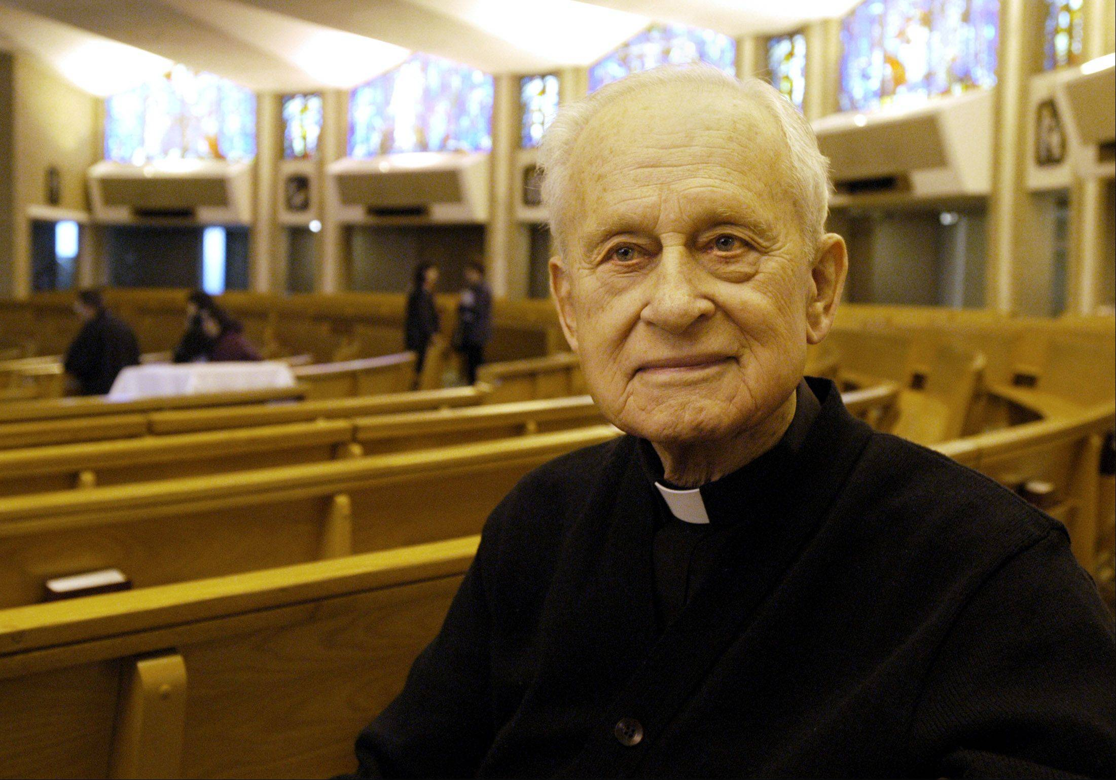 "In 2004, the Rev. Victor Ivers said his philosophy remained unchanged in his more than 60 years of ministry. ""I love God and serve people,"" he said."