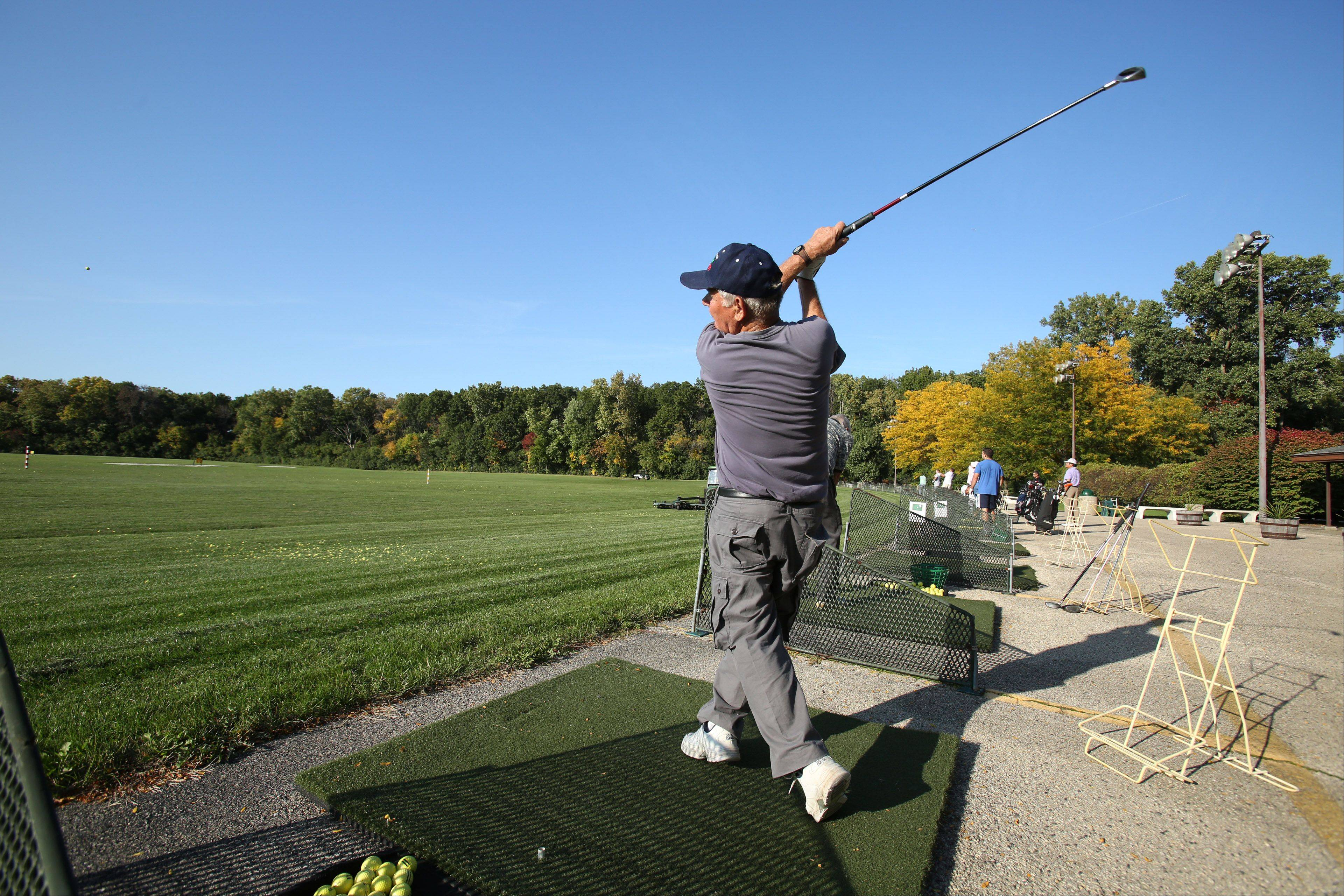 The Harry Semrow Golf Driving Range in Des Plaines is one of two sites being proposed by the U.S. Army Corps of Engineers for a flood storage reservoir, part of a larger flood control plan along the Des Plaines River.