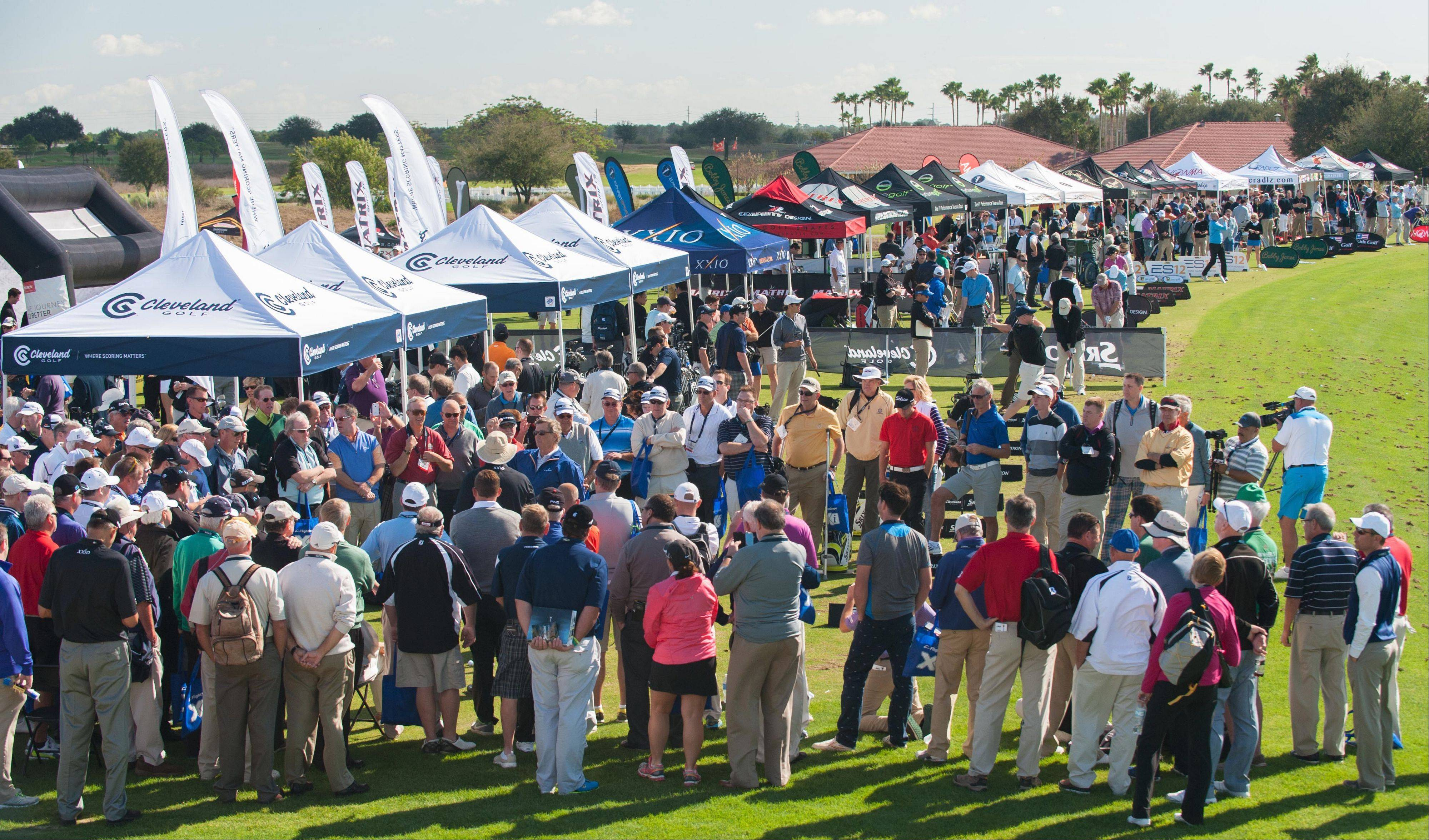 The instructional workshops drew big crowds during Demo Day at the PGA Merchandise Show this week at the Orange County National Golf Course in Winter Garden, Fla.
