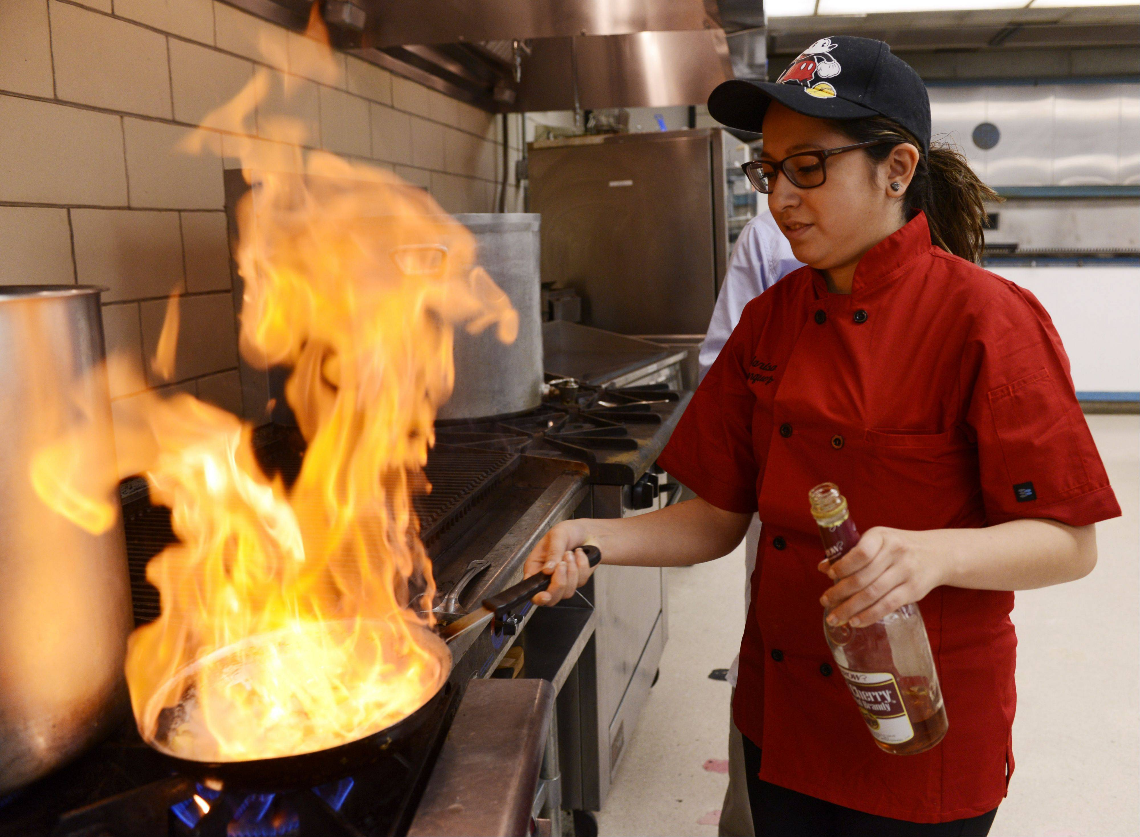 Harper culinary student aspires to cook up magic in Disney kitchen