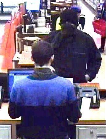 Arlington Heights police and the FBI are investigating an armed robbery that occurred Friday afternoon at the TCF bank branch inside the Jewel-Osco grocery store at the Northpoint Shopping Center at 440 E. Rand Road. This is a surveillance video shot of the robber.