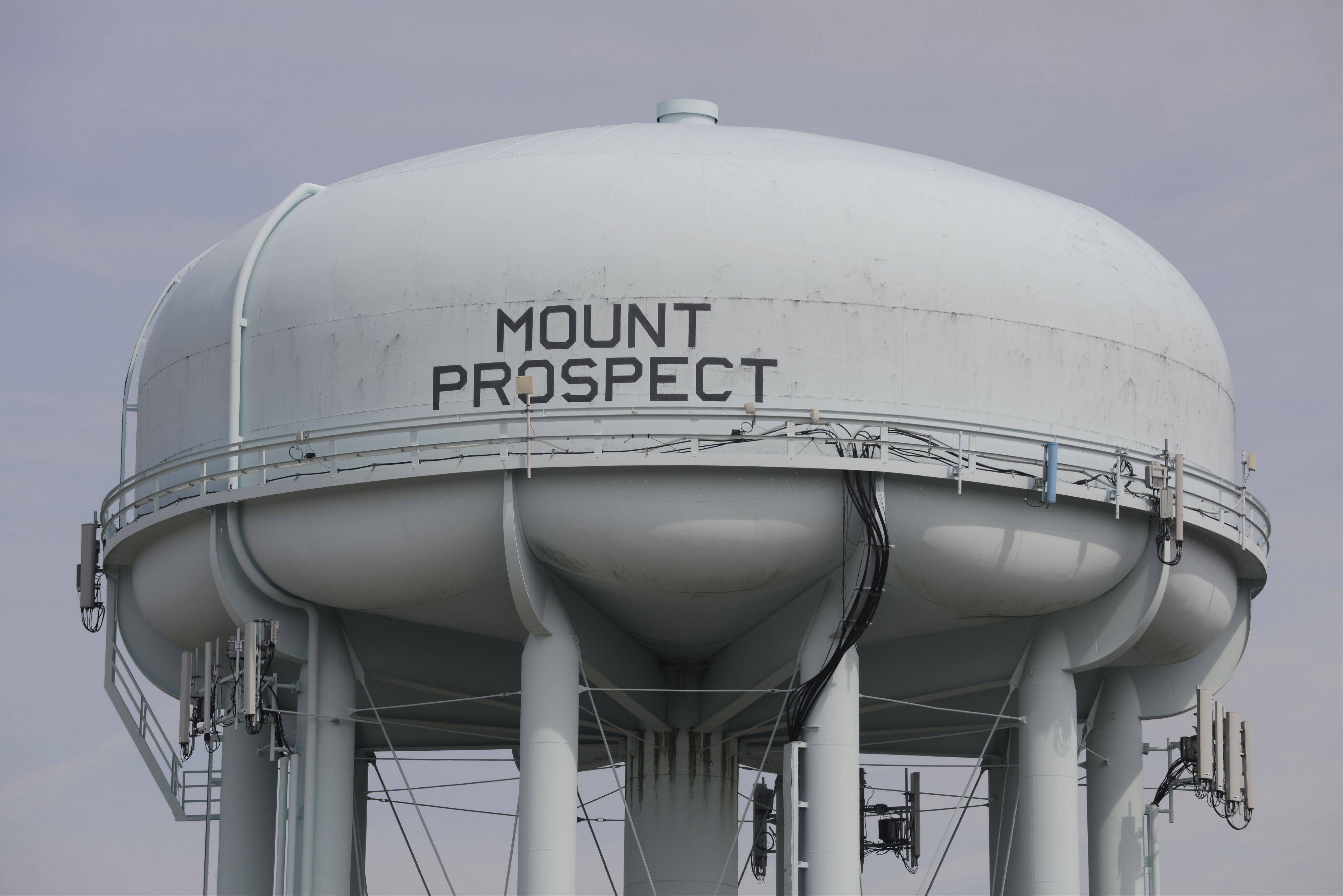 JOE LEWNARD/jlewnard@dailyherald.com Mount Prospect will repair one of its deep wells, kept as a backup in case the flow of Lake Michigan water was ever interrupted.