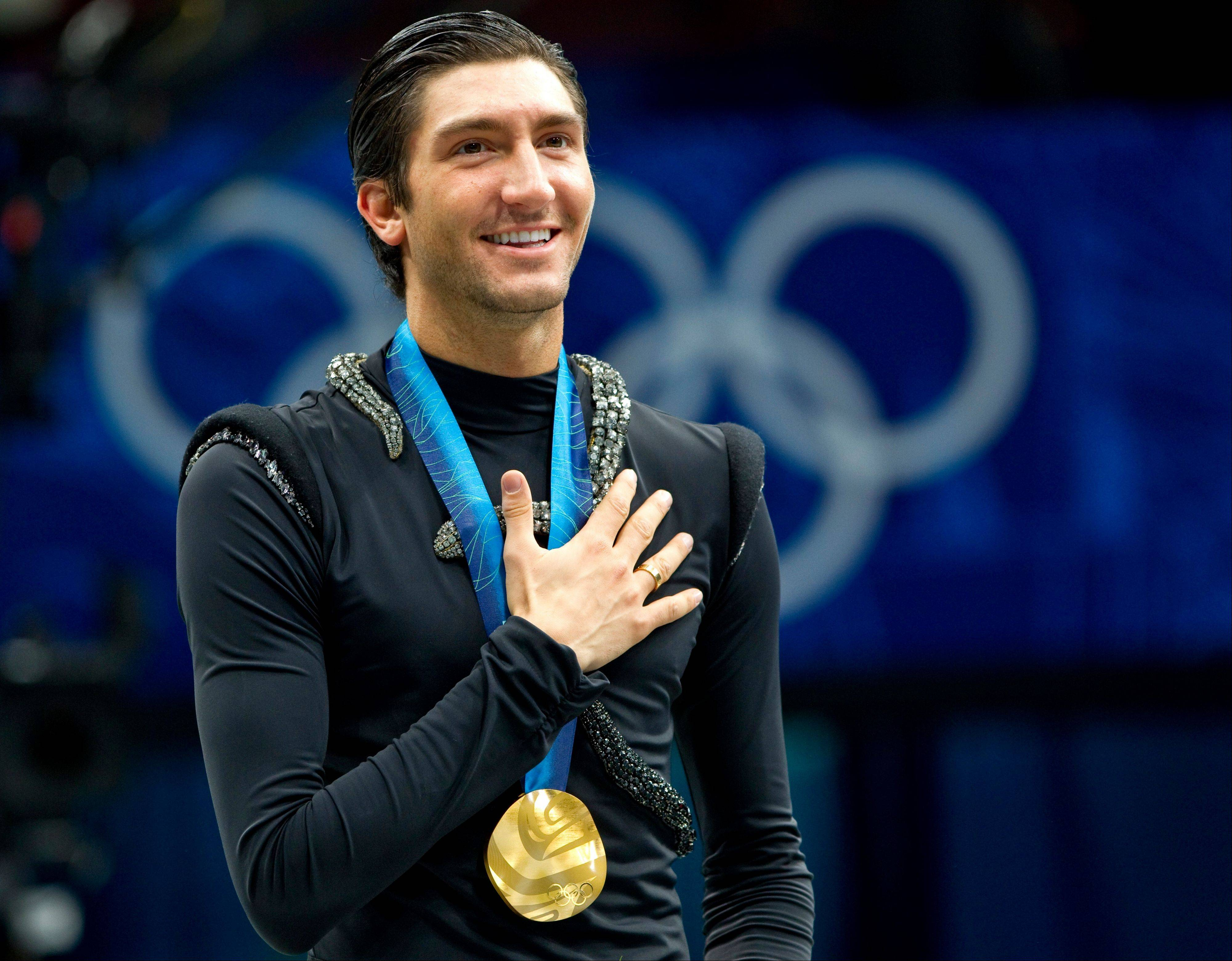Olympic gold medalist Evan Lysacek of Naperville will be in Sochi after all, although he won�t be defending his gold medal from 2010 after injuries curtailed his comeback last year. He�ll be �wearing many hats� in Russia, he says.