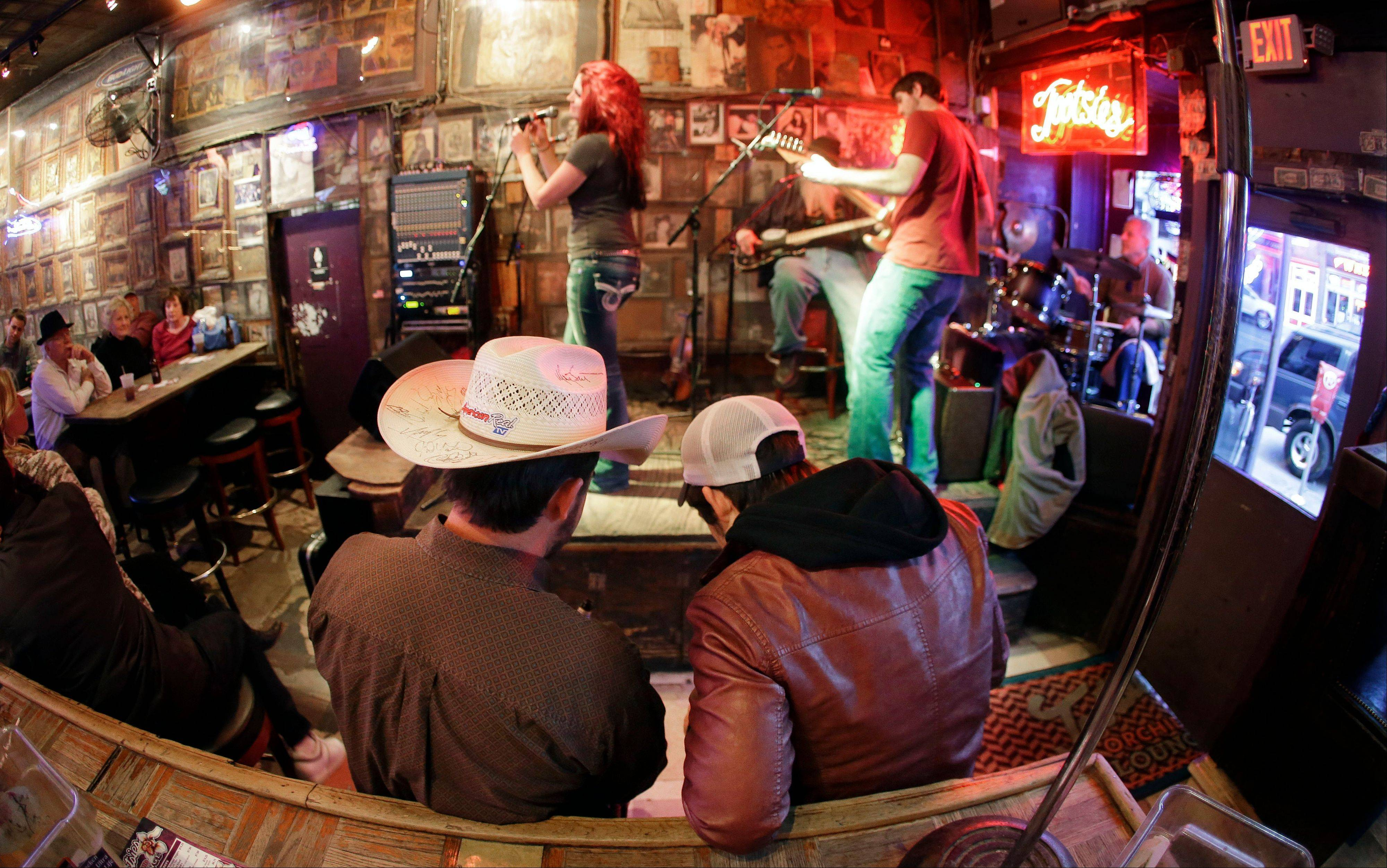 Most of the bars on lower Broadway in Nashville, Tenn., are free from cover charges, like Tootsie's Orchid Lounge, although it's always good to tip the band when they pass the bucket around.