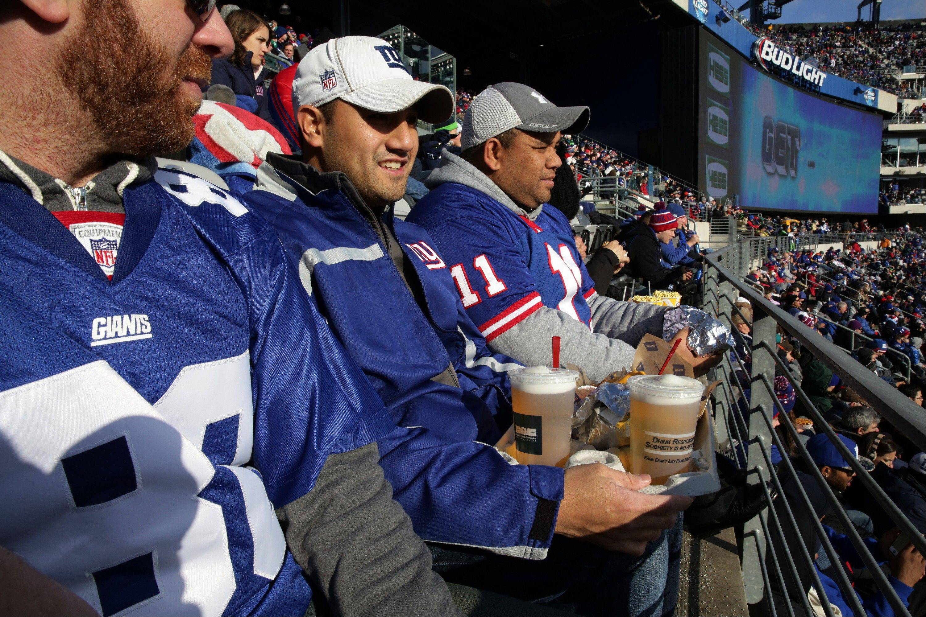 Of course, there will be beer and other beverages on tap at MetLife Stadium during the Super Bowl.