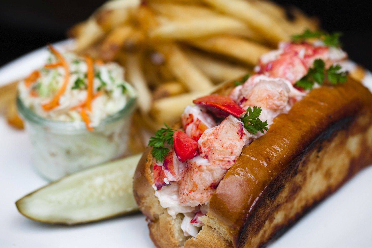 A lobster roll is one of the selections on the two-course Chicago Restaurant Week lunch menu for Shaw's Crab House in Schaumburg and Chicago.