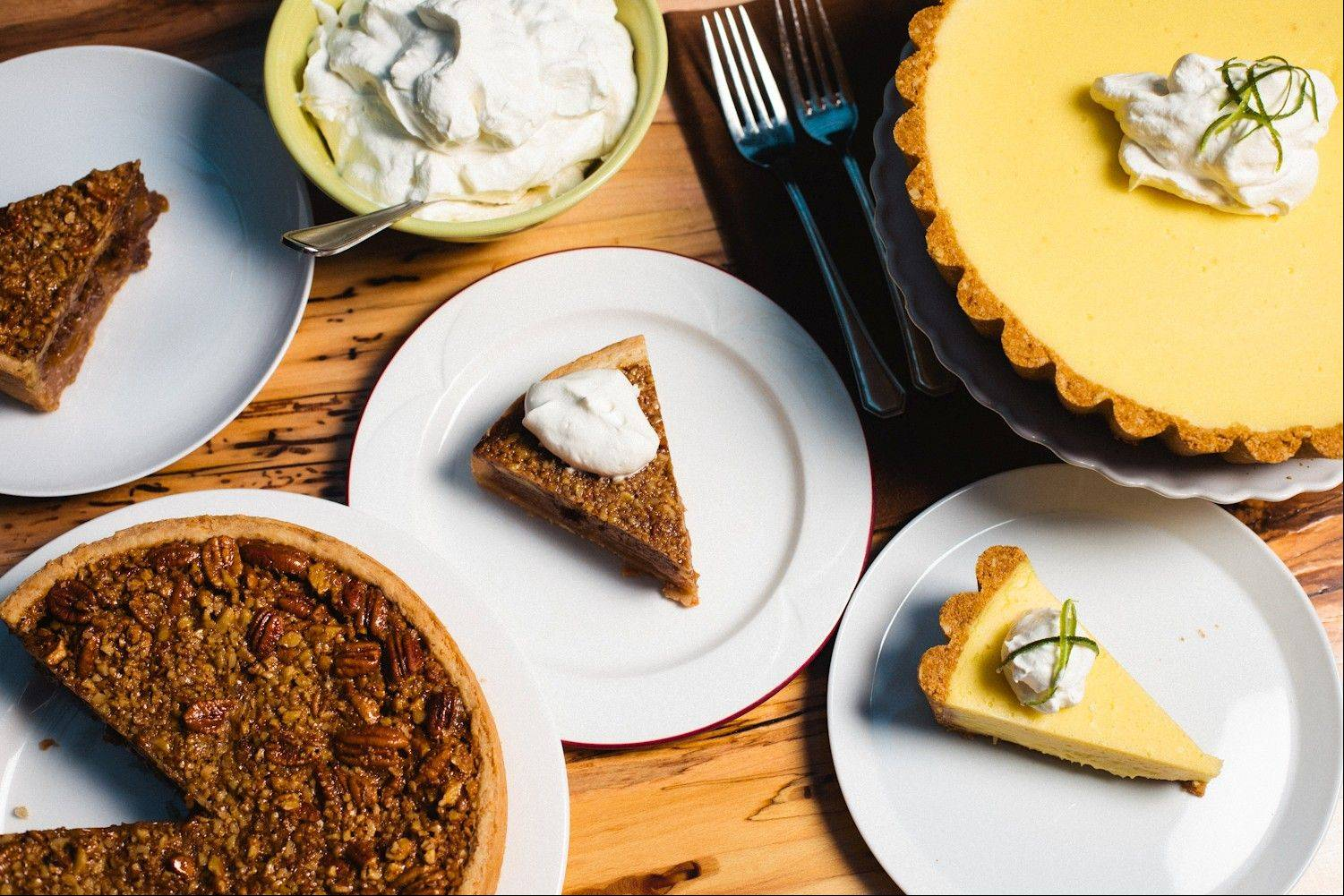 Shaw's Crab House features a variety of pies for dessert in its Chicago Restaurant Week menu.