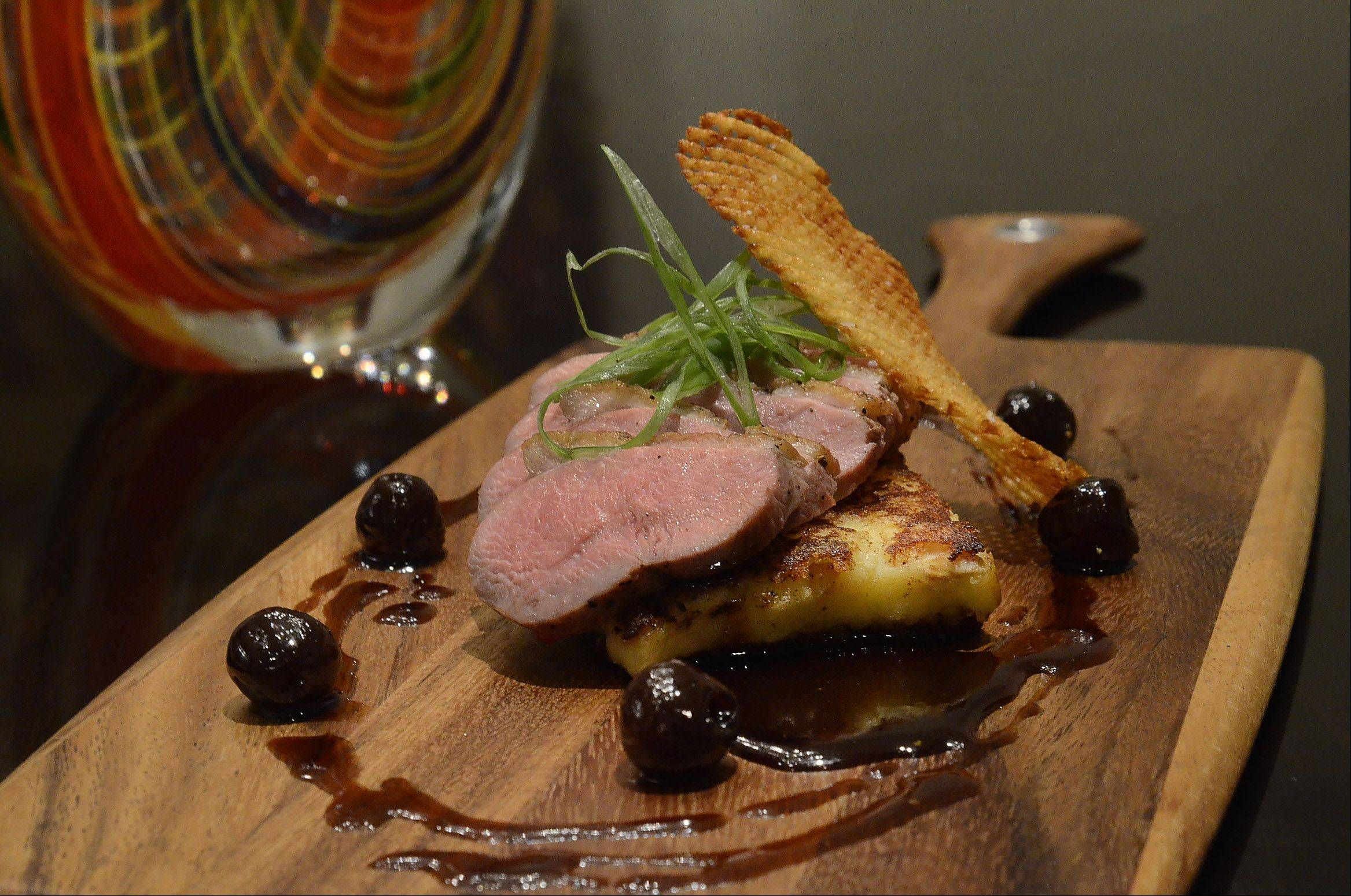 Fresco 21's pan-roasted duck breast is featured during Chicago Restaurant Week.