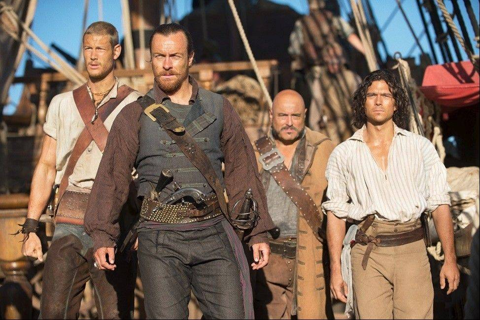 "Starz takes to the high seas Saturday, Jan. 25, with the pirate drama ""Black Sails."""