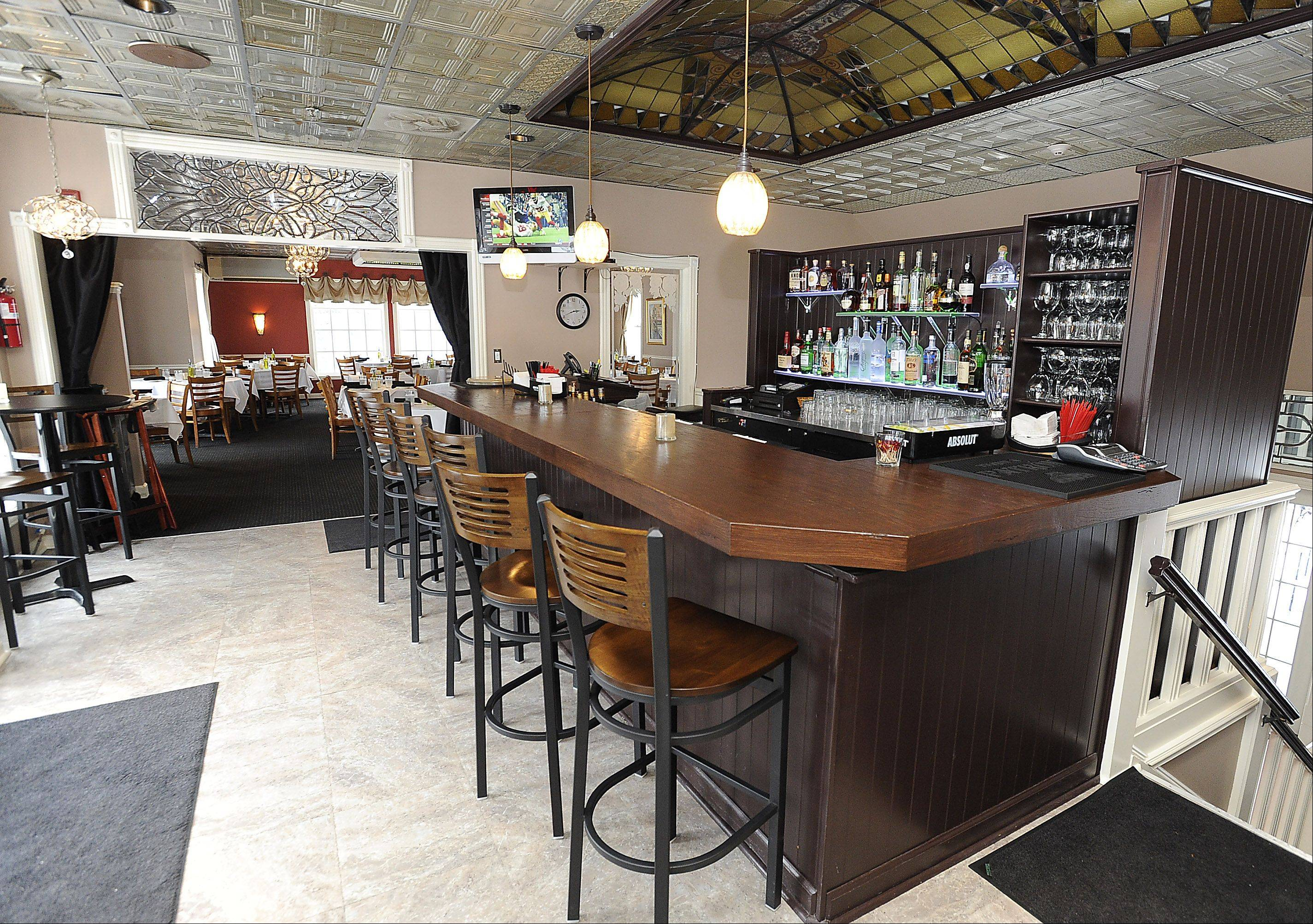 Enzo & Lucia in Long Grove features a newly remodeled bar.