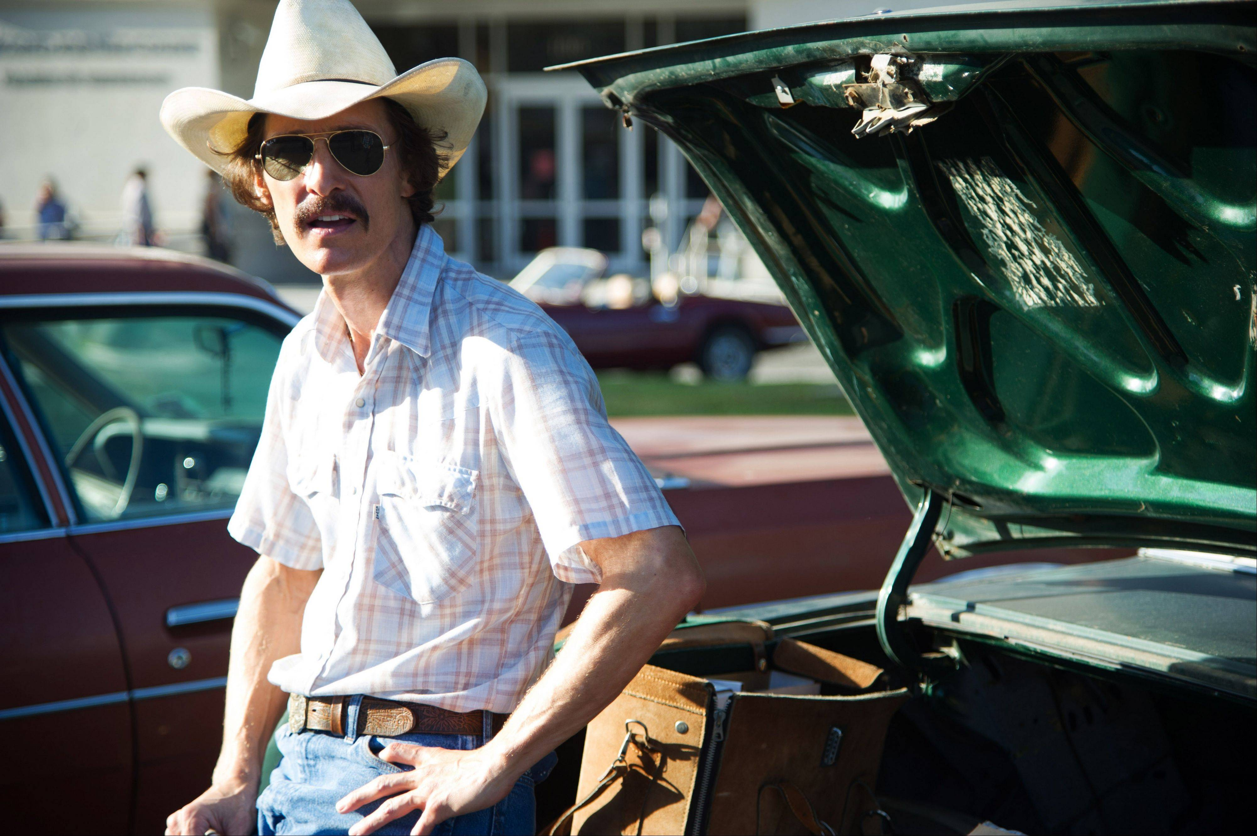 "Oscar nominee Matthew McConaughey stars in ""Dallas Buyers Club,"" which comes to Blu-ray on Feb. 4"