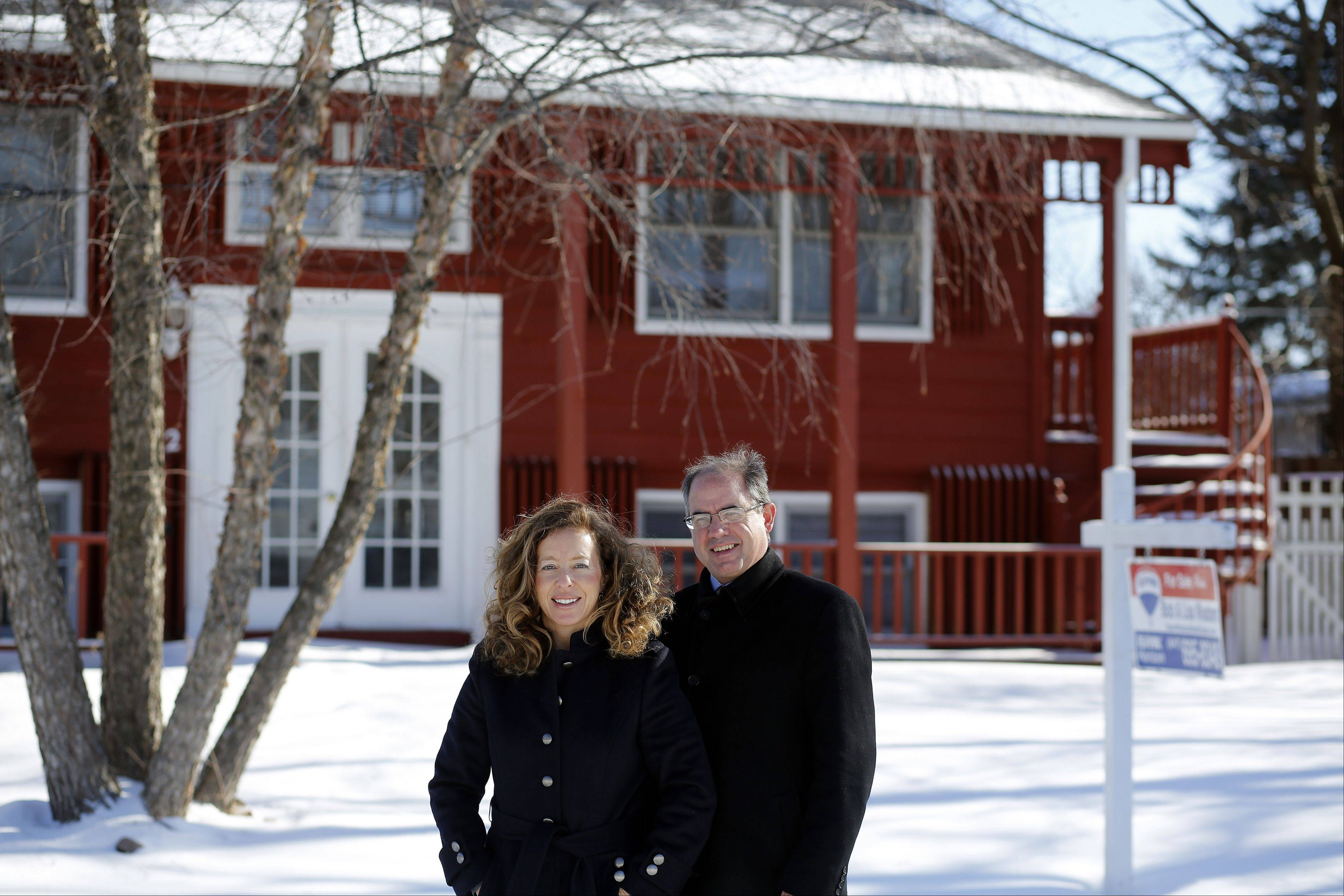 Realtors Bob and Lisa Wisdom say a low inventory of homes for sale, coupled with some harsh winter weather, has given the real estate market a slow start in 2014.
