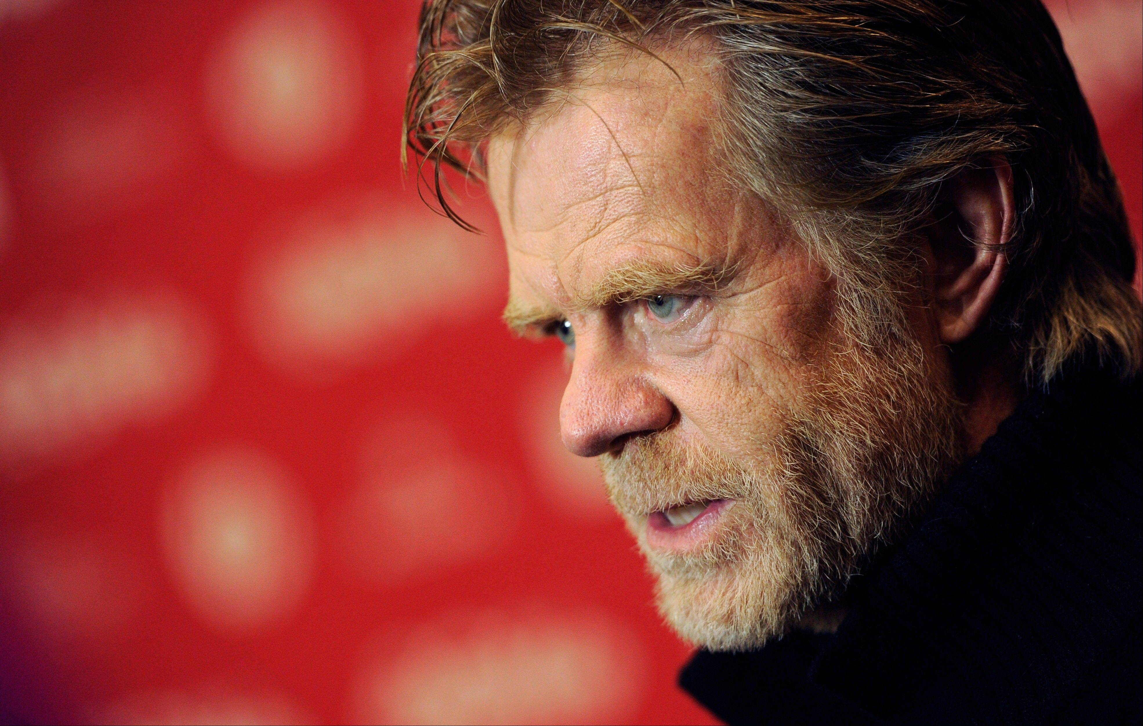 "William H. Macy, writer/director/cast member of ""Rudderless,"" says making the film was the most intense and invigorating work he's ever done."