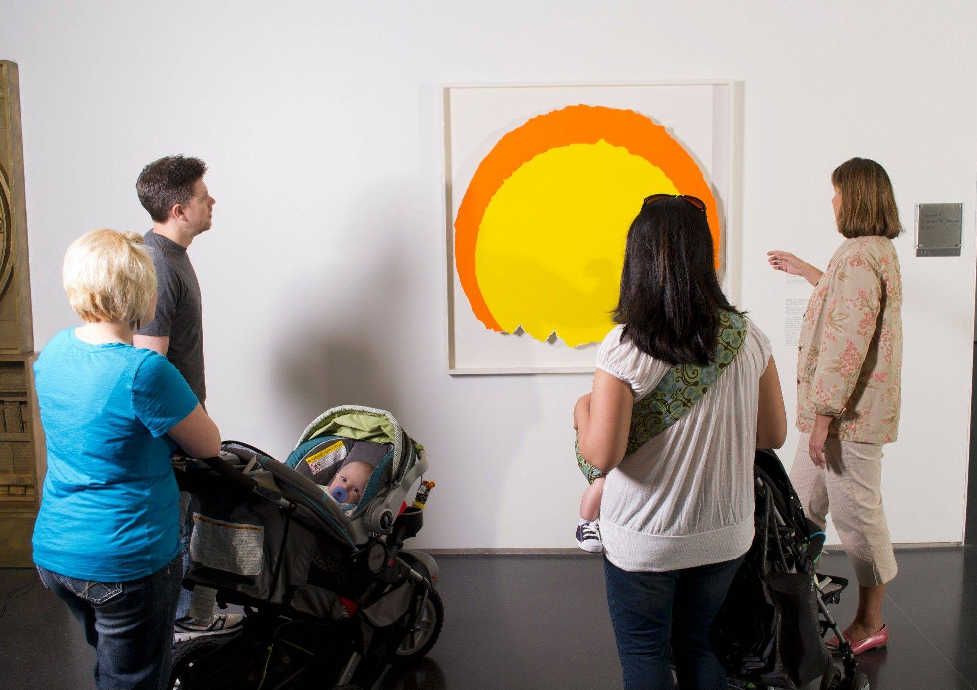 Take a Stroller Tour at the Museum of Contemporary Art Chicago to get out of the house and into some art on Wednesday, Feb. 5.
