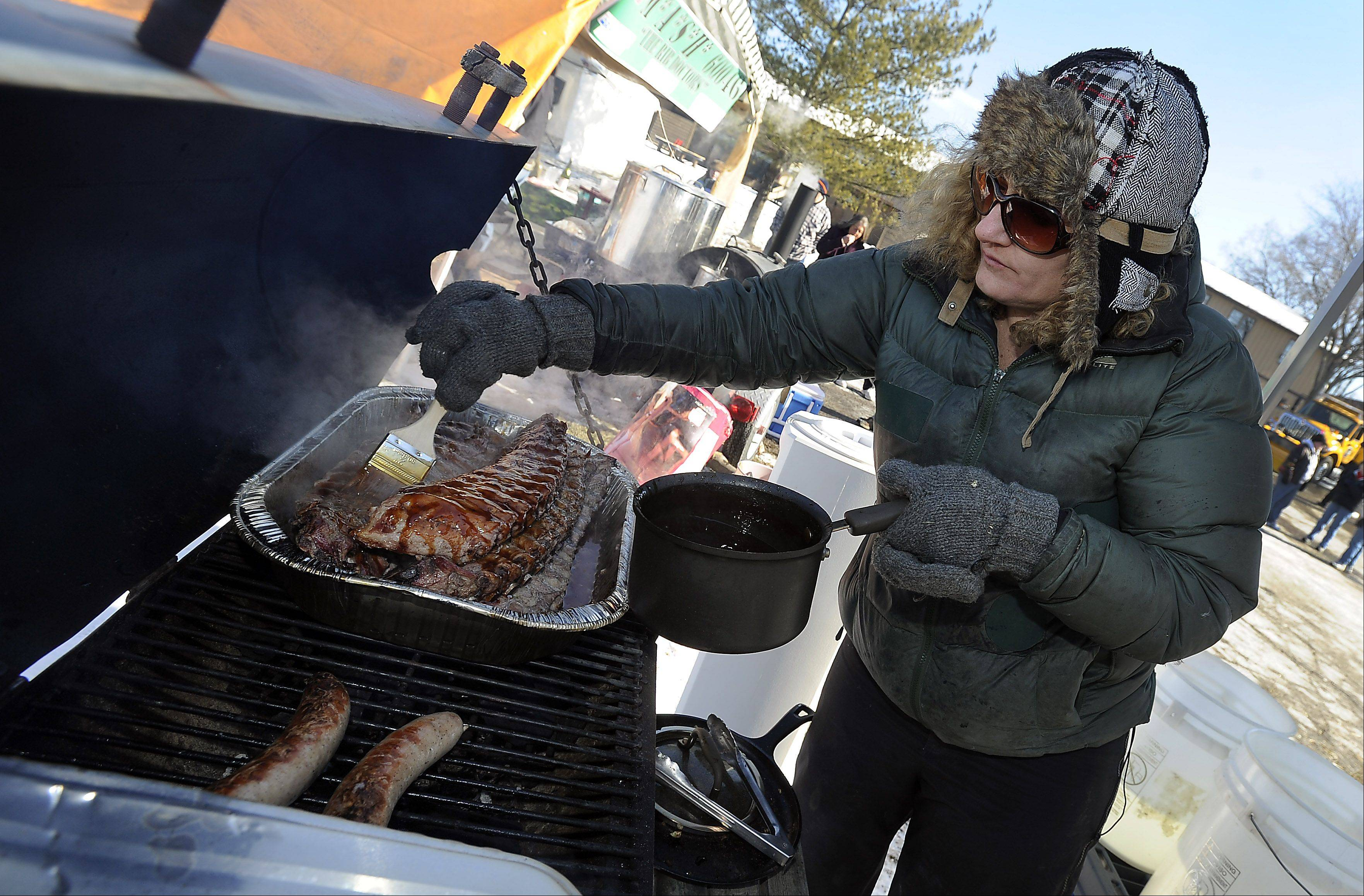 Dig in to a variety of barbecued ribs at Lake Villa's annual Winter Ribfest.