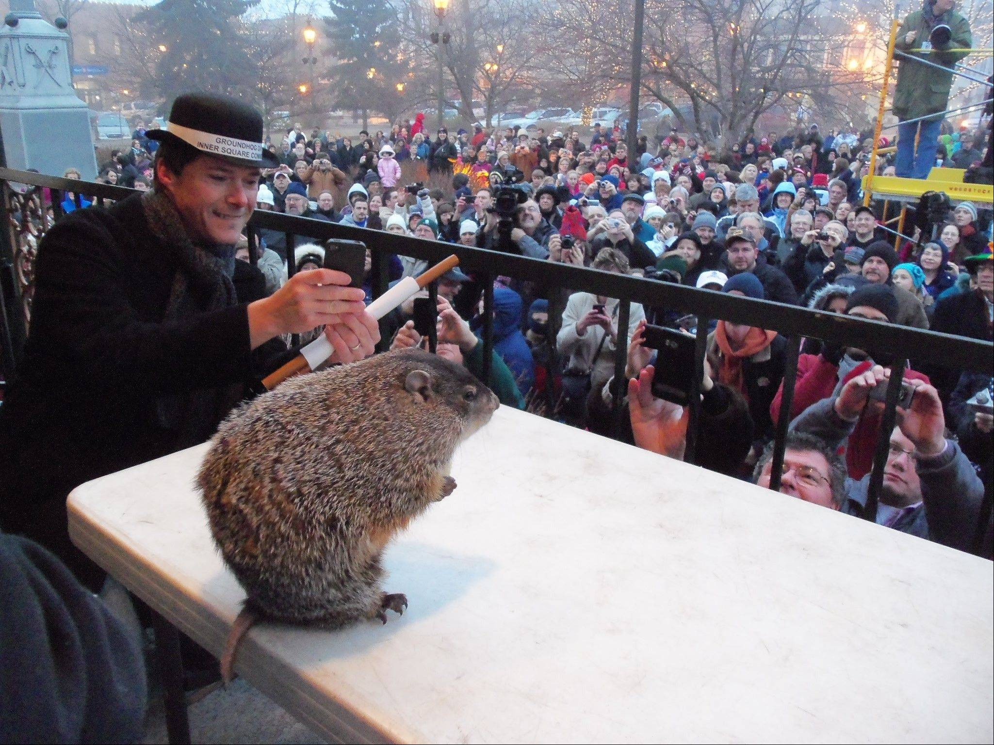 The annual Groundhog Days in Woodstock will take place Jan. 30-Feb. 2.