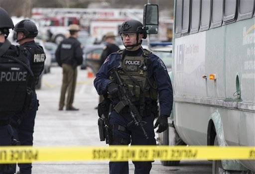 Someone armed with a gun opened fire at a busy shopping mall in suburban Baltimore on Saturday, sending store employees and customers scrambling for cover. Police said three people died, including the person believed to be the shooter, in an apparent murder-suicide.