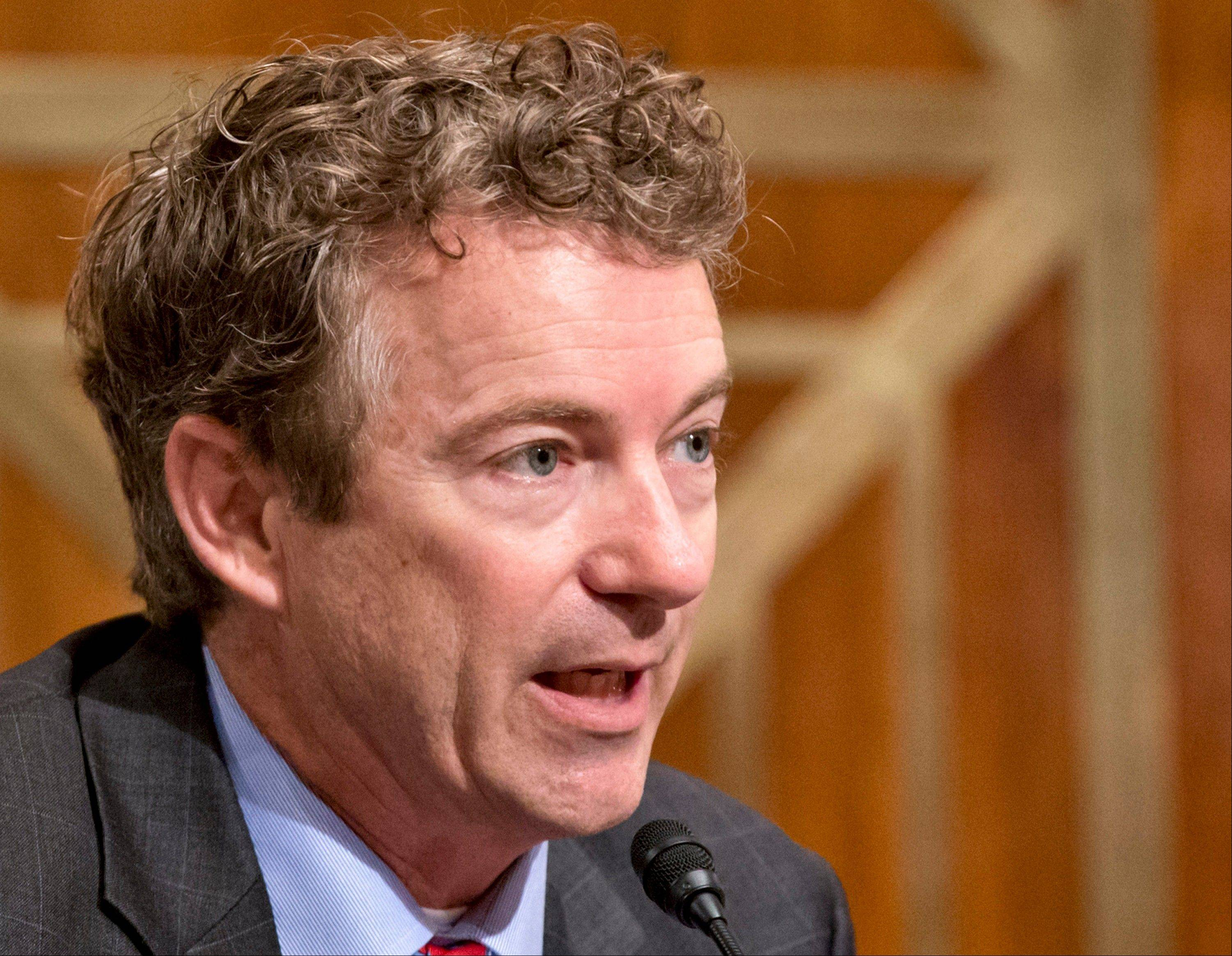 A look at potential presidential candidate Rand Paul