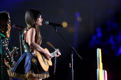 Country singer Kacey Musgraves performs.