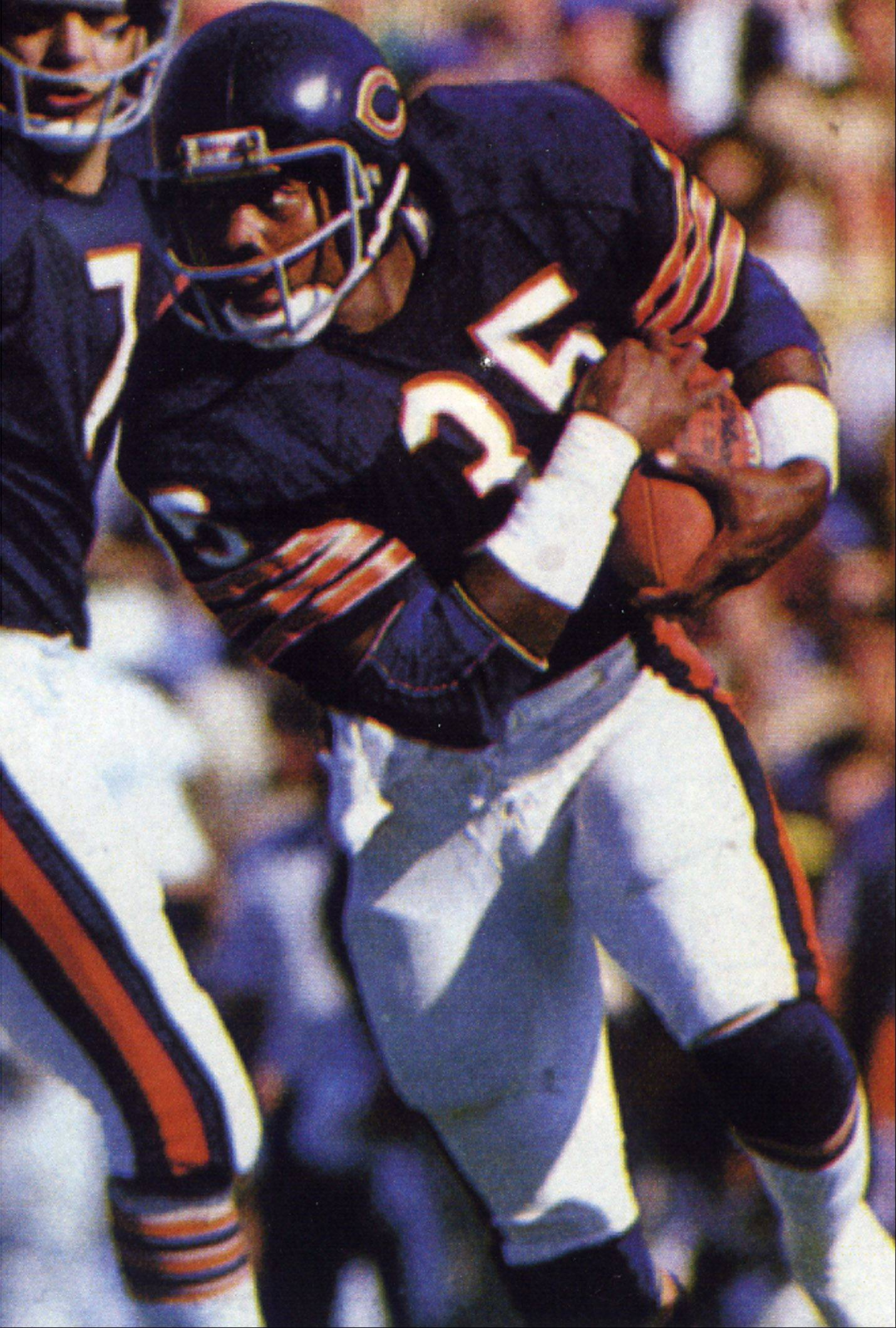 Known mostly as the lead blocker for Hall-of-Fame running back Walter Payton, Chicago Bear Roland Harper averaged 4 yards per carry for his career and scored 18 touchdowns.