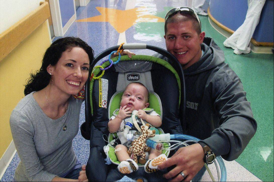 "Jennifer and Larry Rigler prepare to leave the hospital with their son, Andrew, a ""micro preemie"" at birth. The couple share what they've learned taking care of Andrew with families of other kids making the move from hospital to home."