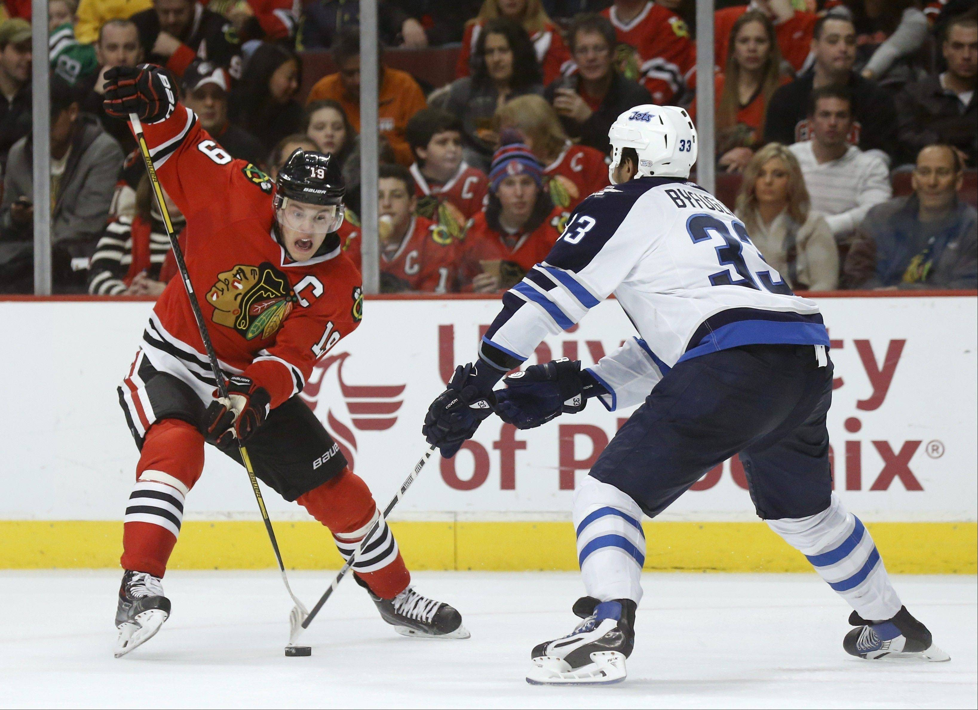 "Blackhawks captain Jonathan Toews says the team has to ""get rid of bad habits and get rid of them fast."""